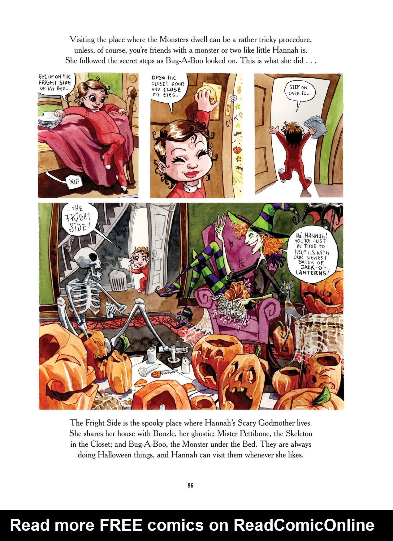 Read online Scary Godmother comic -  Issue # TPB - 96