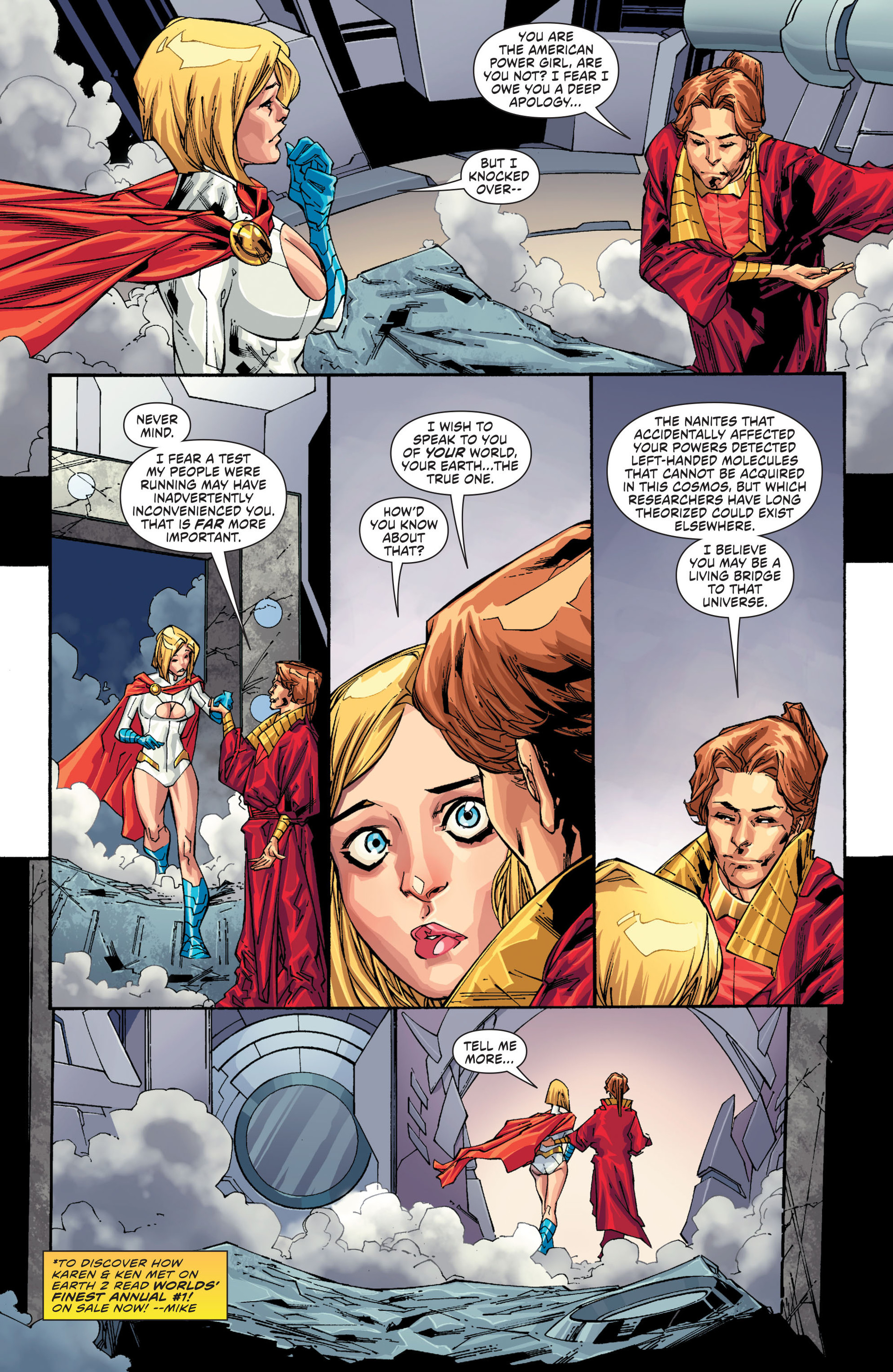 Read online Worlds' Finest comic -  Issue #20 - 15