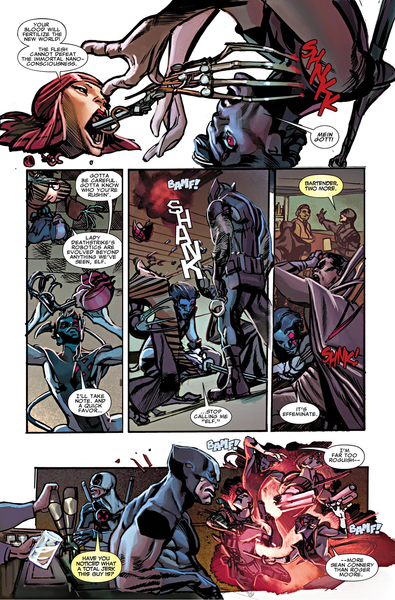 Read online Uncanny X-Force (2010) comic -  Issue #20 - 9