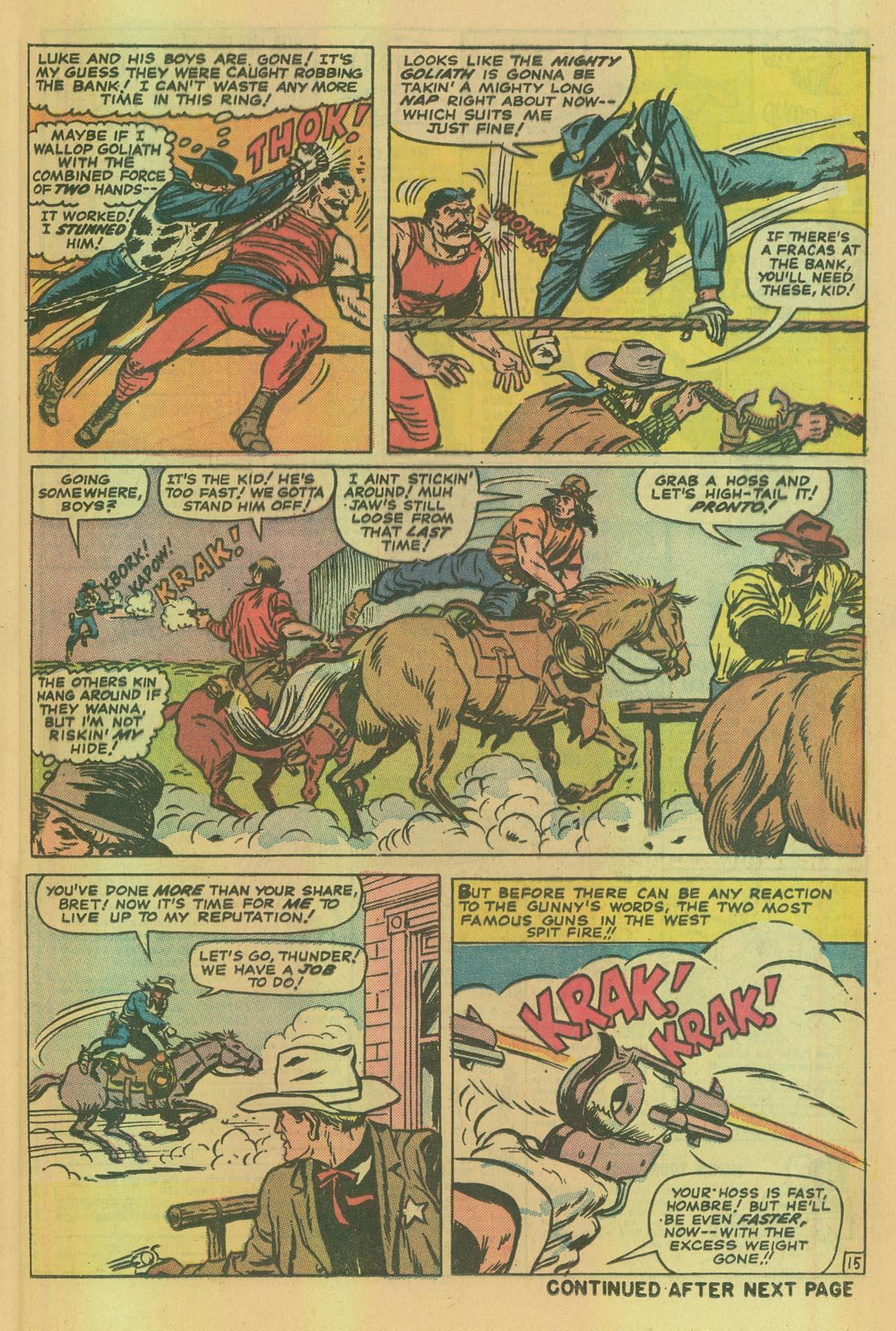 Read online Two-Gun Kid comic -  Issue #114 - 25
