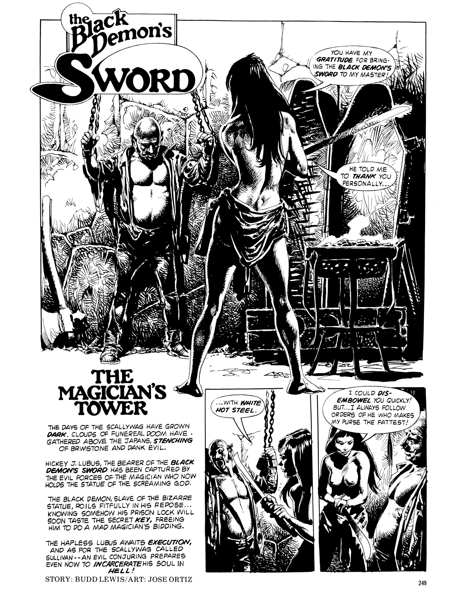 Read online Eerie Archives comic -  Issue # TPB 18 - 246