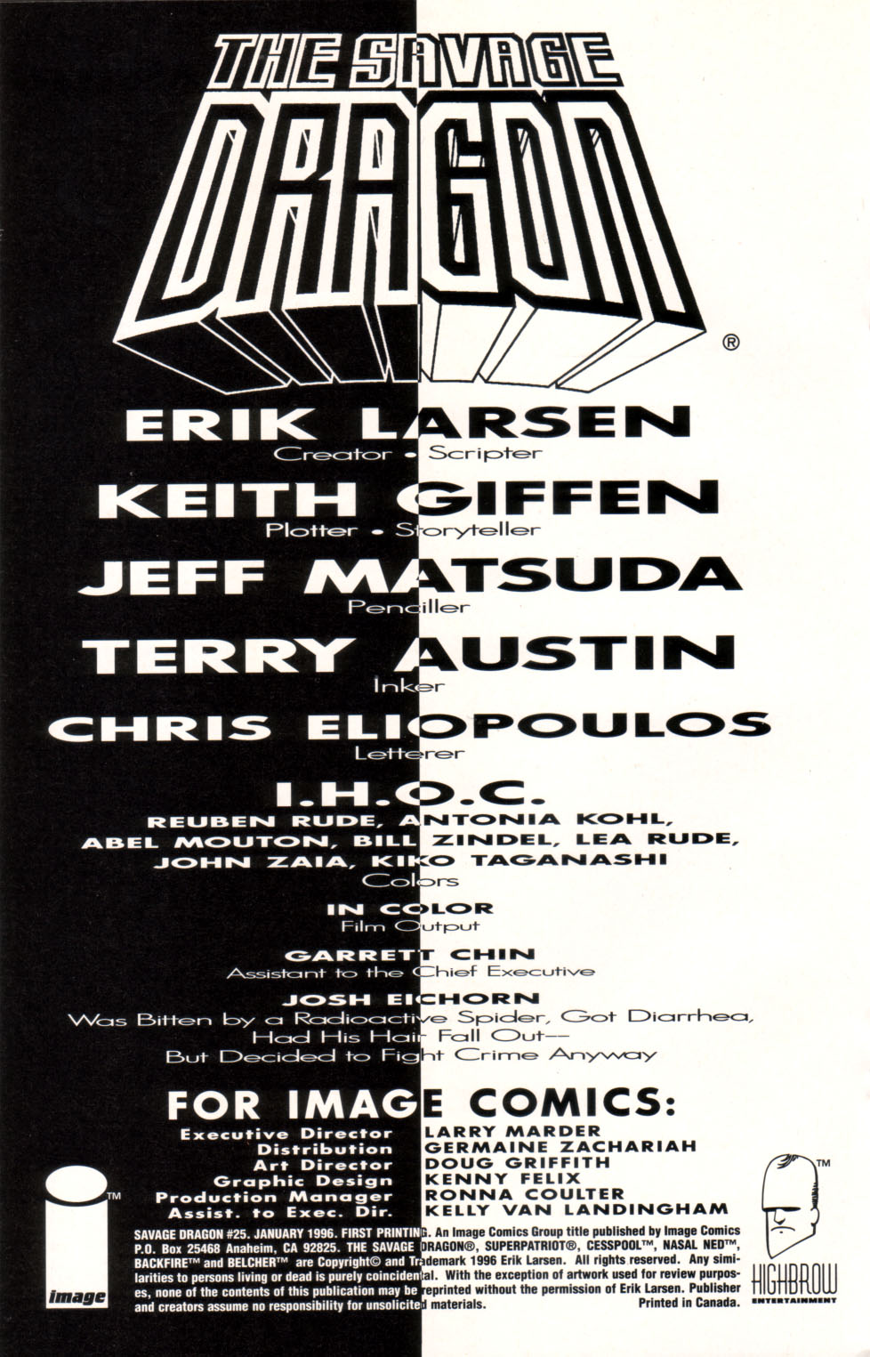 The Savage Dragon (1993) Issue #25 #28 - English 27
