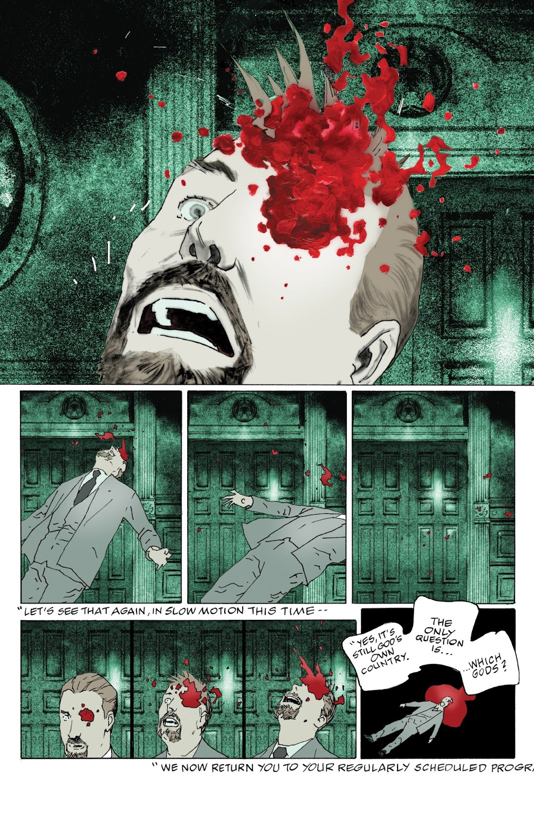 American Gods: My Ainsel issue 9 - Page 12