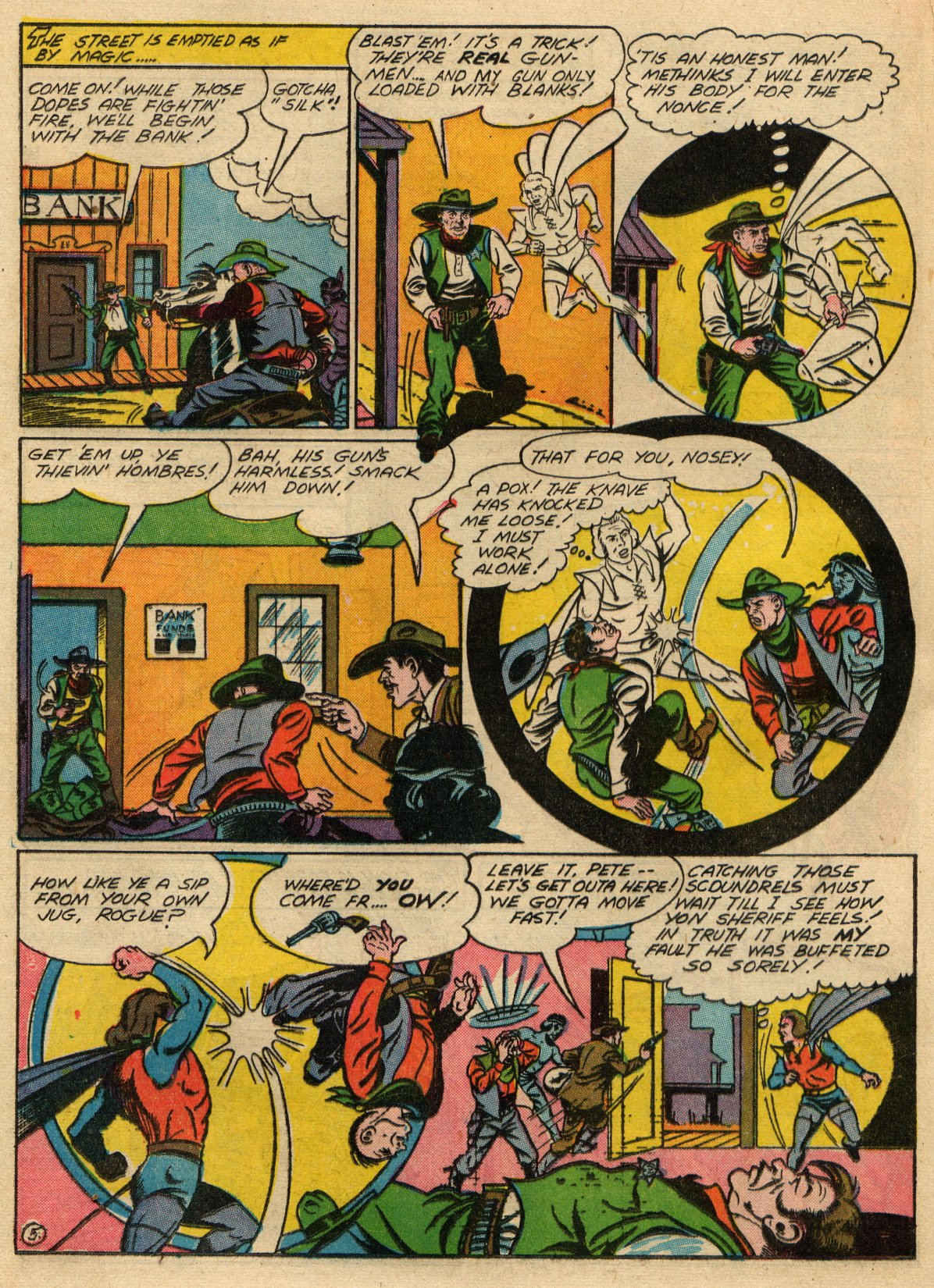 Read online Sensation (Mystery) Comics comic -  Issue #22 - 35