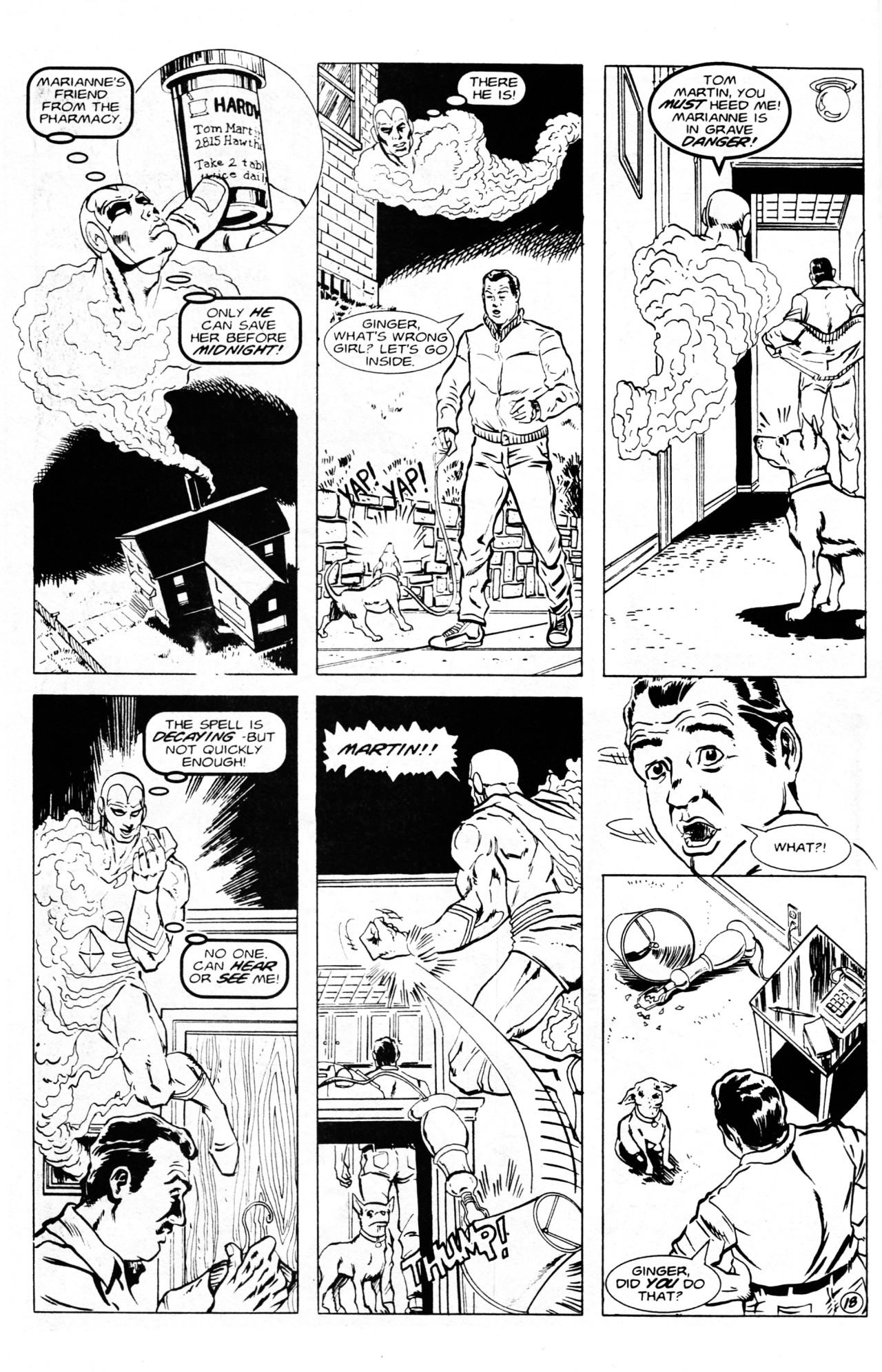 Read online Dr. Weird (1994) comic -  Issue #1 - 20