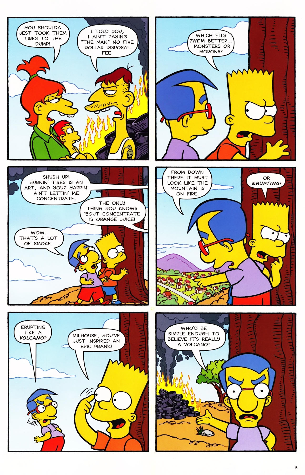 Read online Simpsons Comics comic -  Issue #152 - 4
