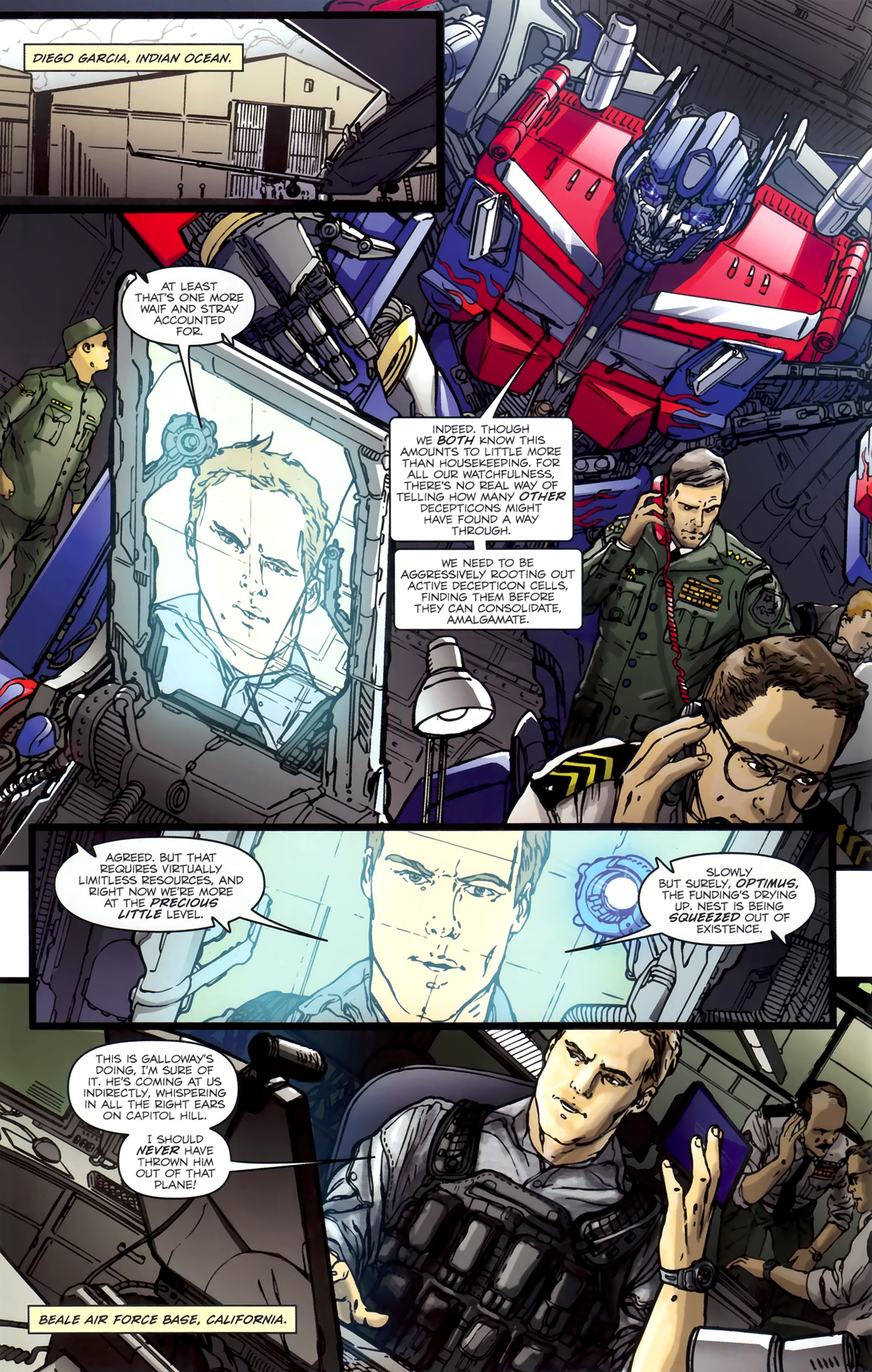 Read online Transformers: Nefarious comic -  Issue #1 - 14