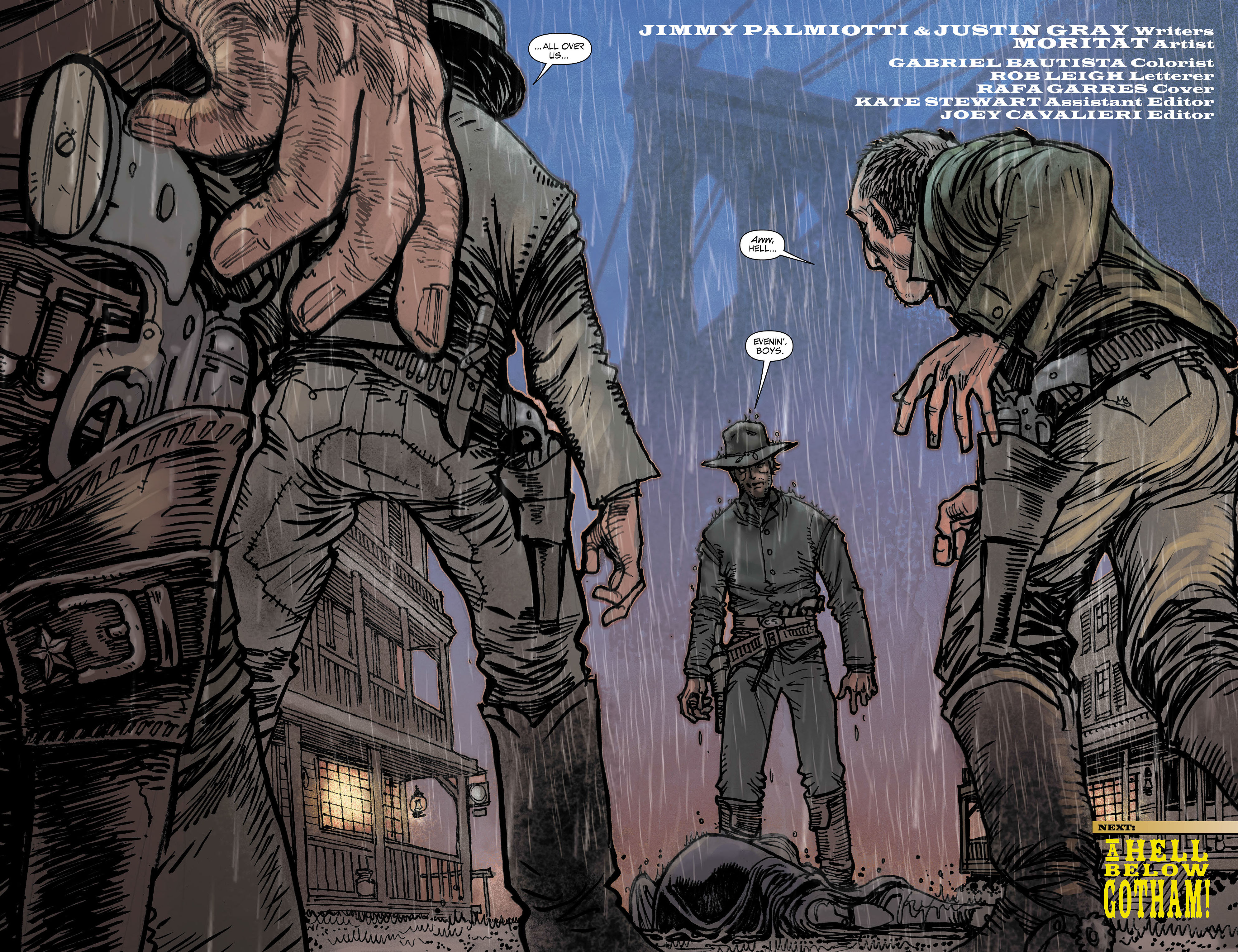 Read online All-Star Western (2011) comic -  Issue #3 - 19