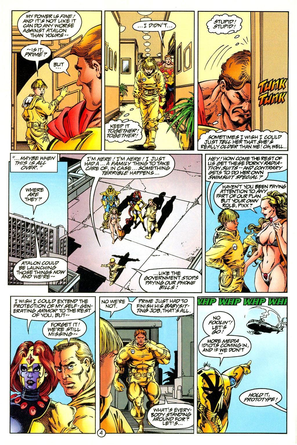 Read online UltraForce (1994) comic -  Issue #5 - 5