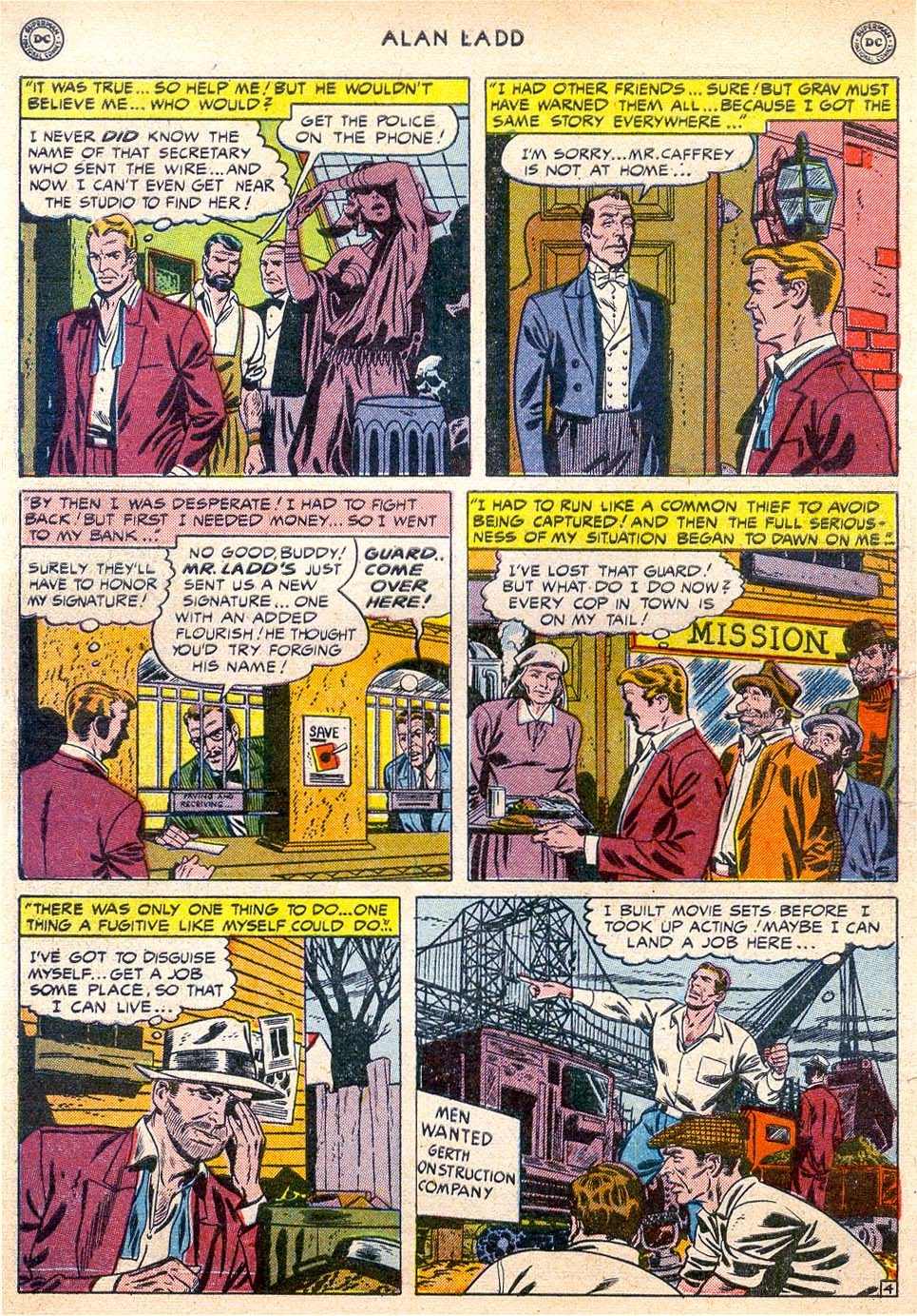 Adventures of Alan Ladd issue 4 - Page 6