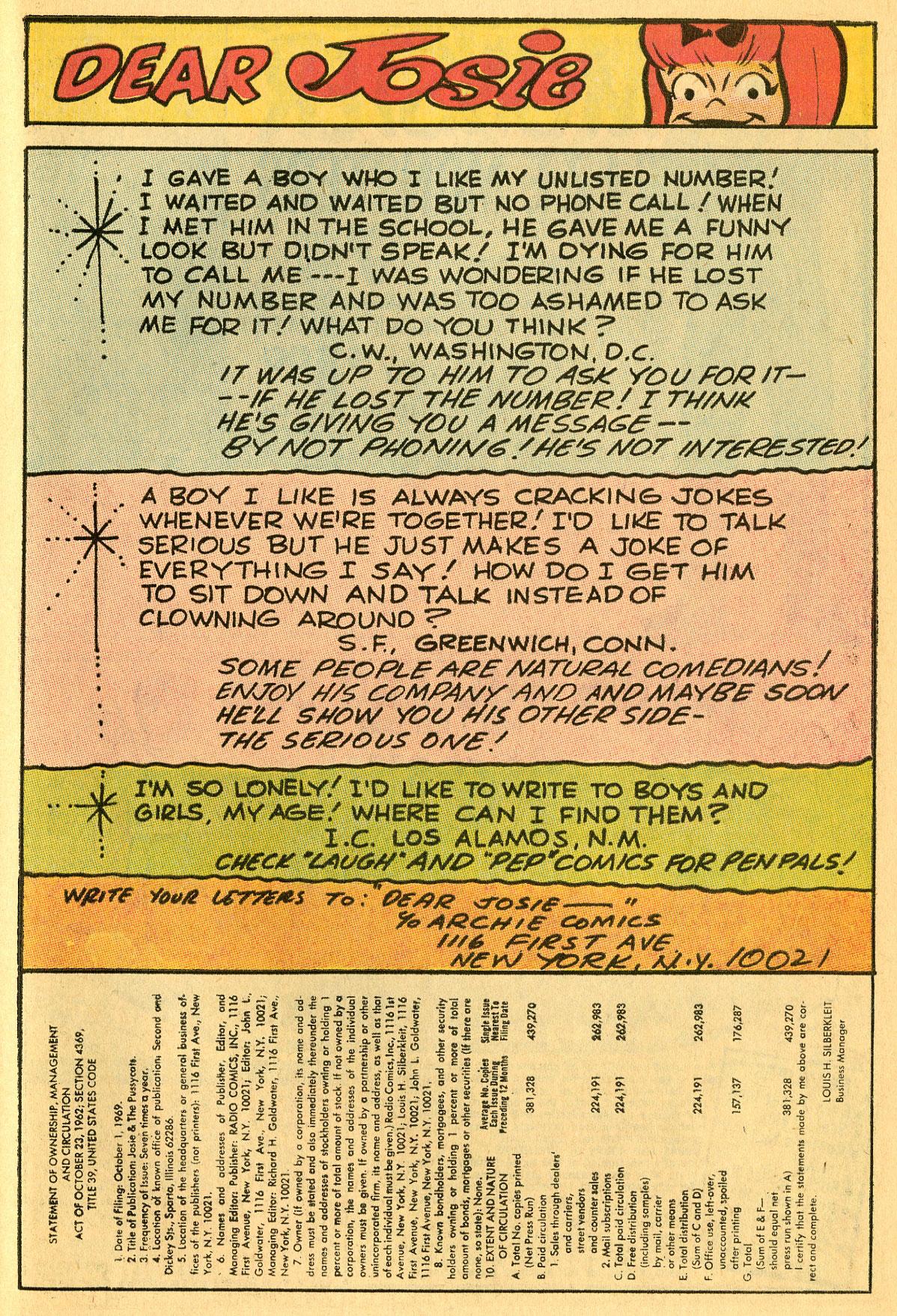 Read online She's Josie comic -  Issue #47 - 27