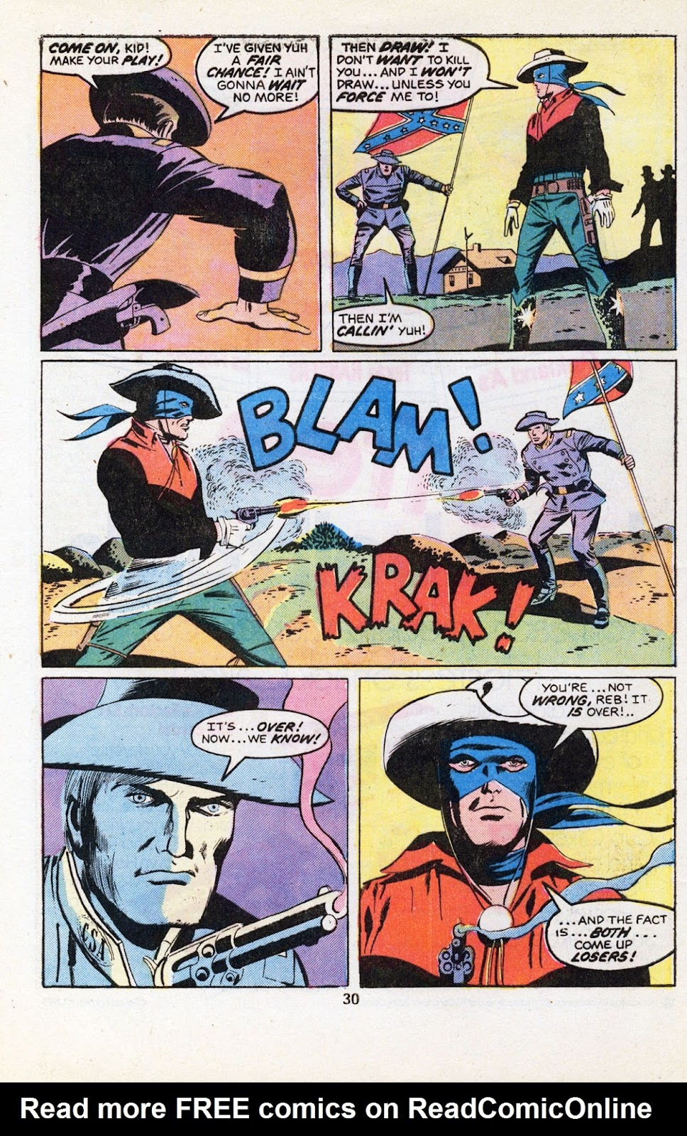 The Outlaw Kid (1970) issue 30 - Page 32