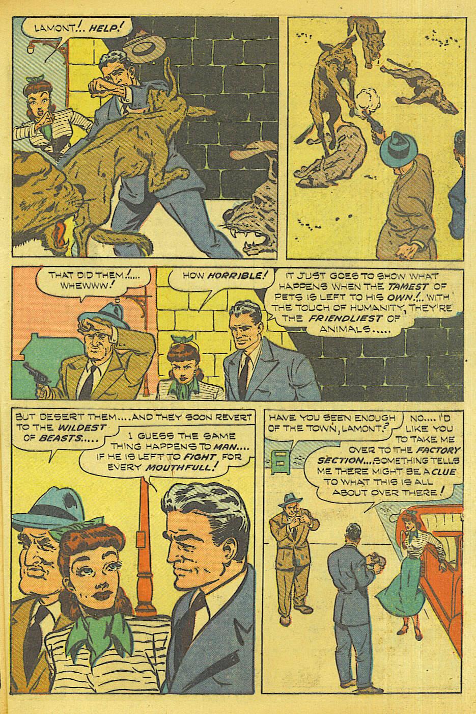 Read online Shadow Comics comic -  Issue #87 - 34
