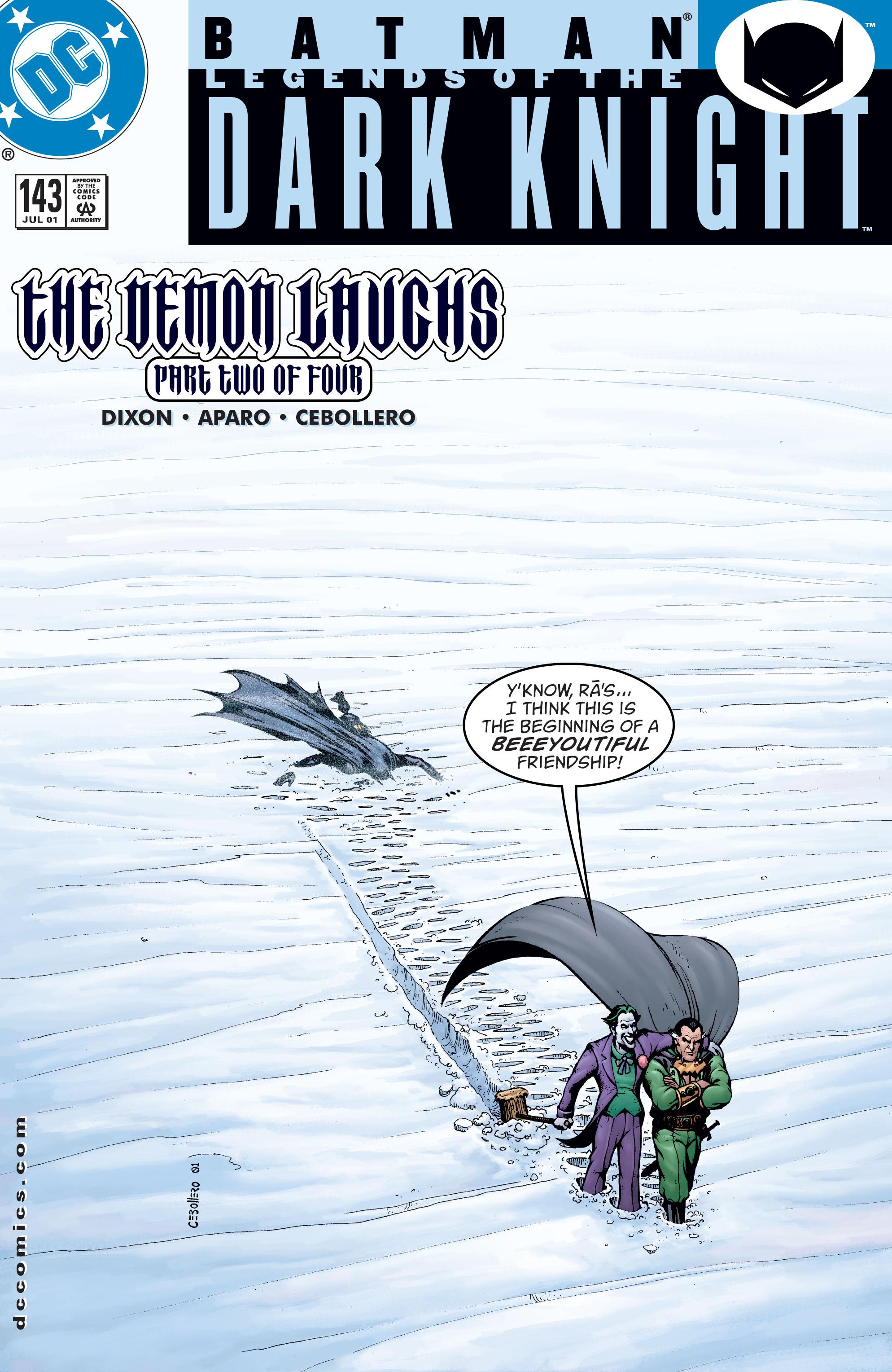 Batman: Legends of the Dark Knight 143 Page 1