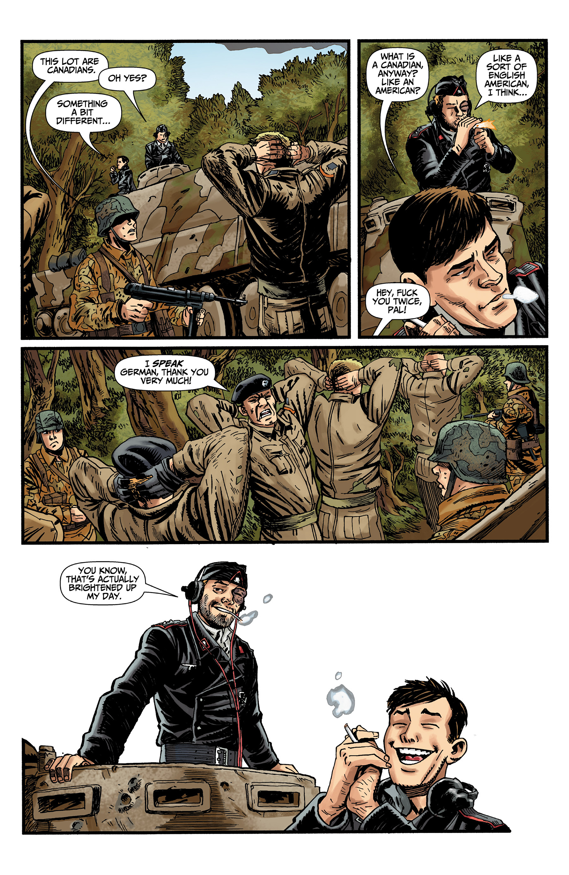 Read online World of Tanks comic -  Issue #3 - 12