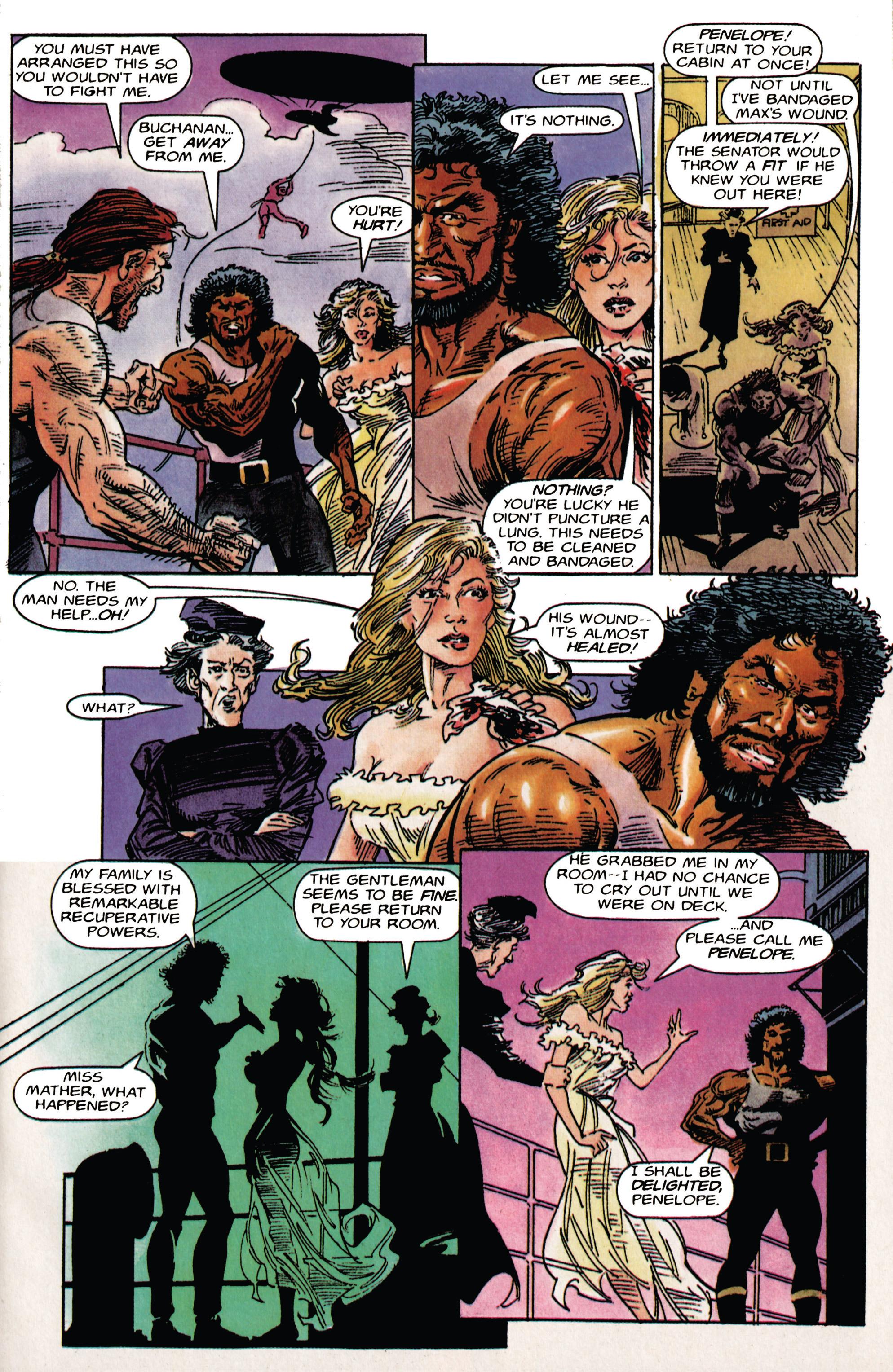 Read online Shadowman (1992) comic -  Issue # _TPB 1 - 11