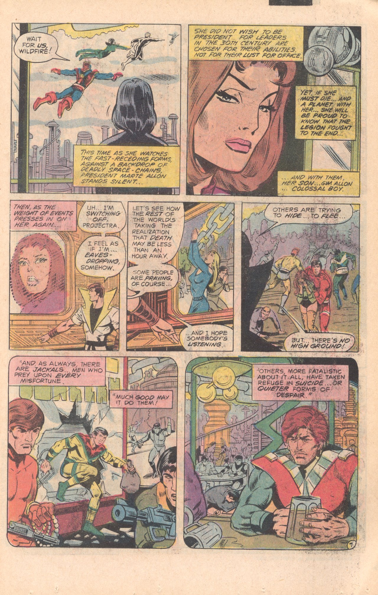 Legion of Super-Heroes (1980) 279 Page 7