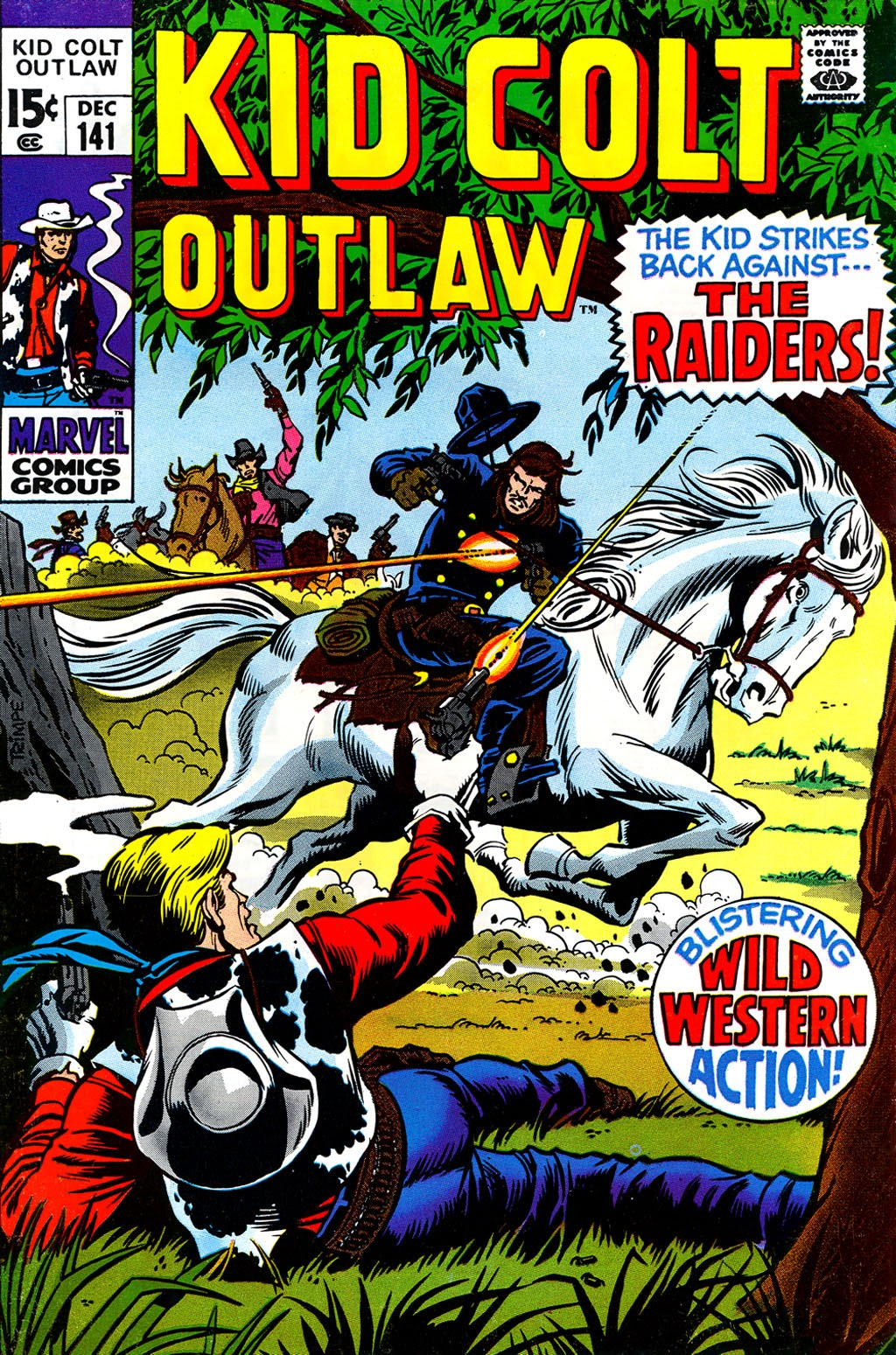 Kid Colt Outlaw issue 141 - Page 1