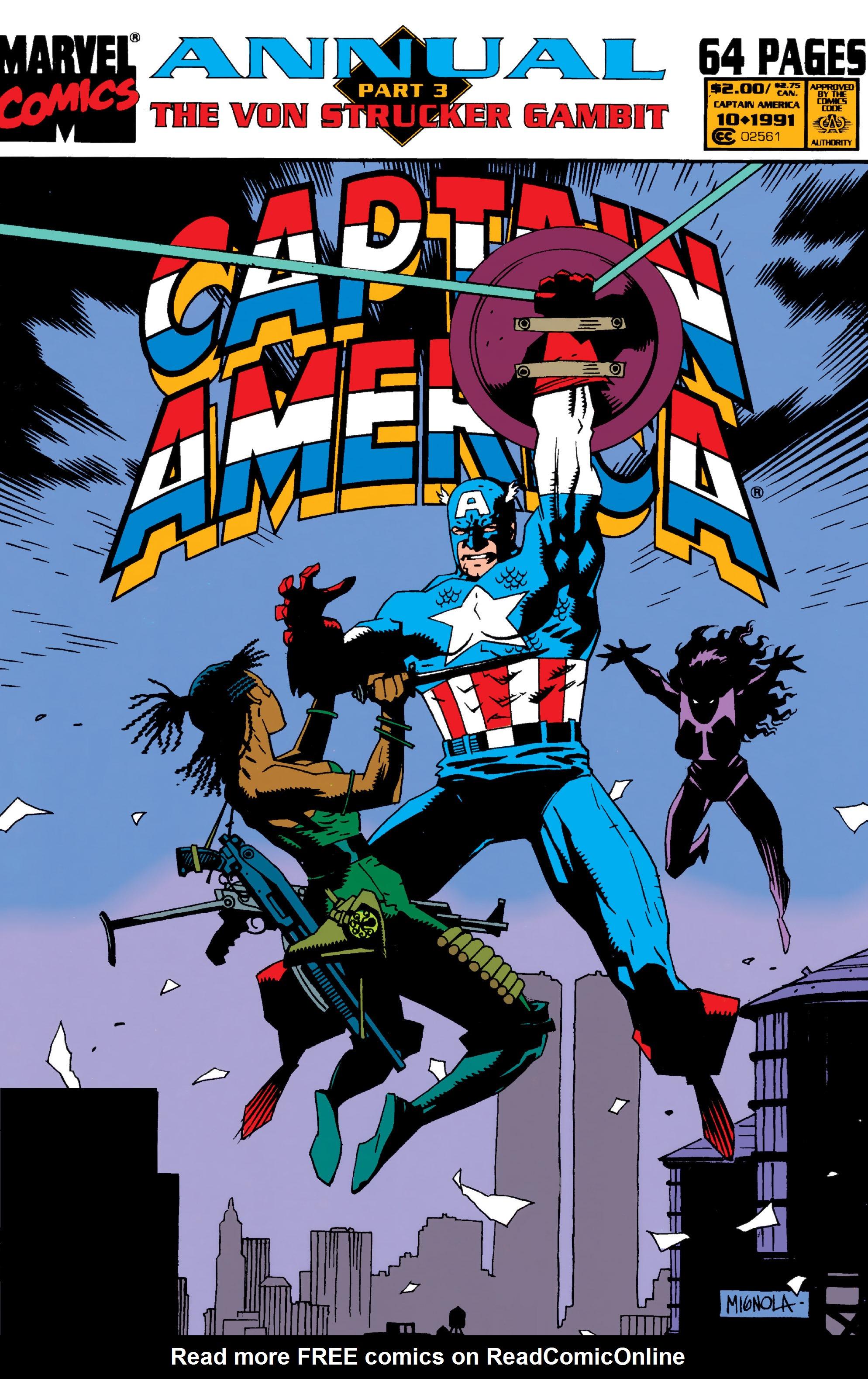 Read online Captain America (1968) comic -  Issue # _Annual 10 - 1