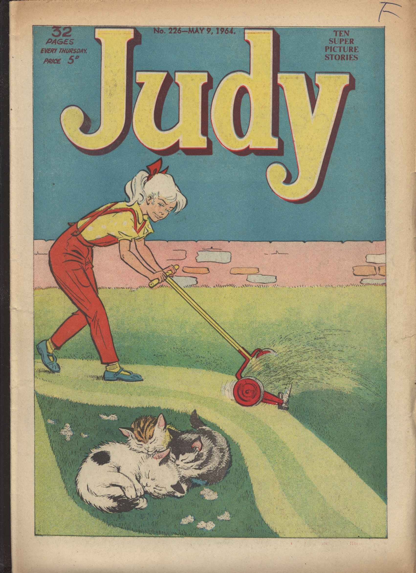 Read online Judy comic -  Issue #226 - 1