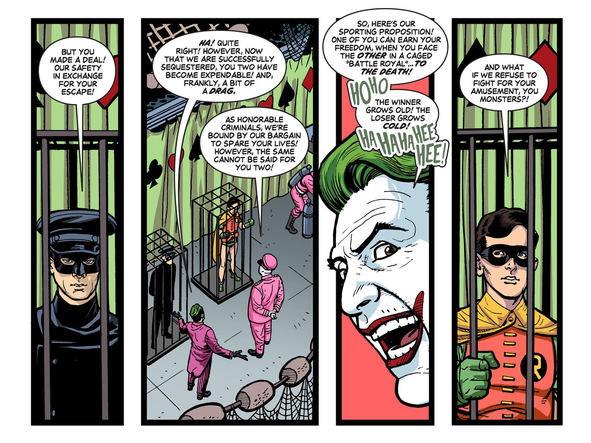 Read online Batman '66 Meets the Green Hornet [II] comic -  Issue #5 - 94