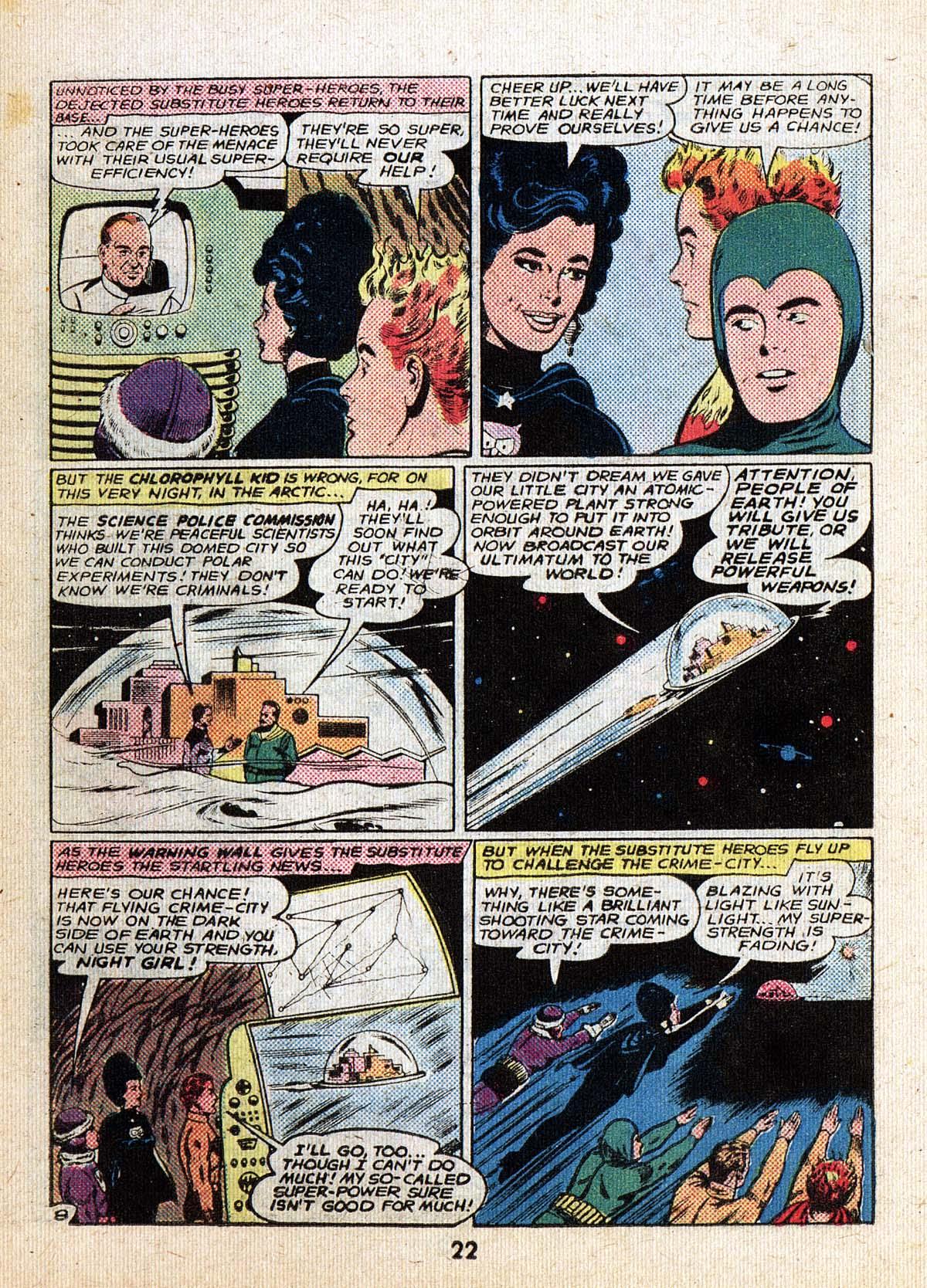 Read online Adventure Comics (1938) comic -  Issue #500 - 22