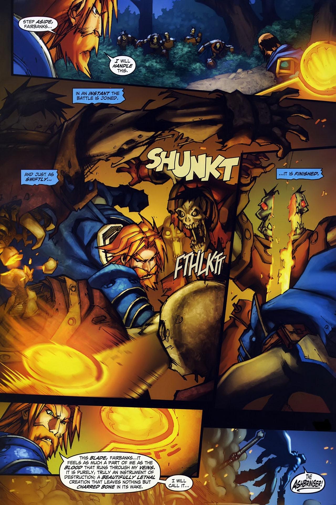 Read online World of Warcraft: Ashbringer comic -  Issue #1 - 16