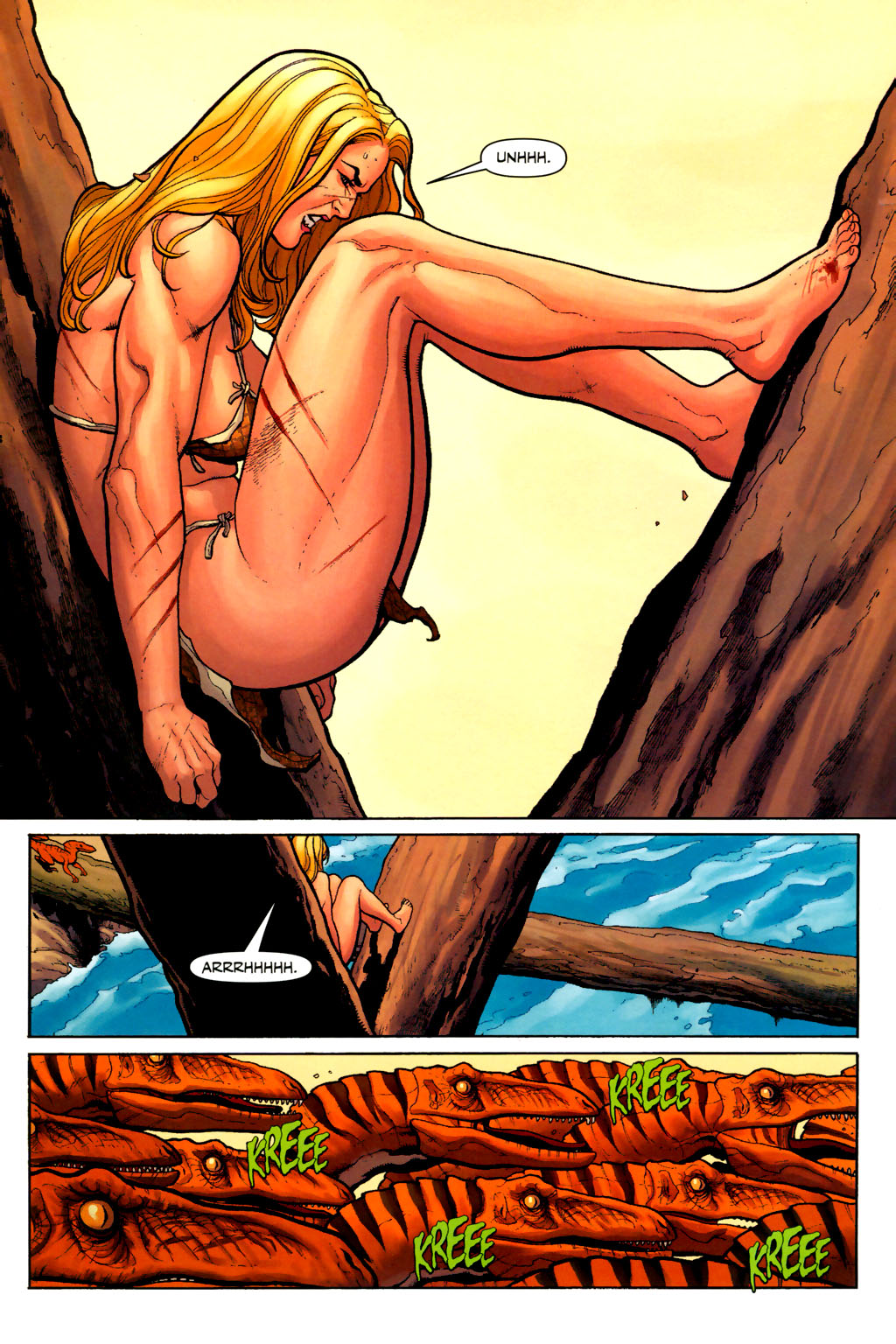 Read online Shanna, the She-Devil (2005) comic -  Issue #7 - 12