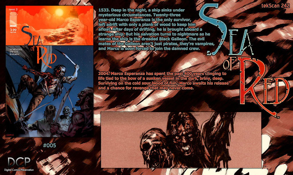 Read online Sea of Red comic -  Issue #5 - 35