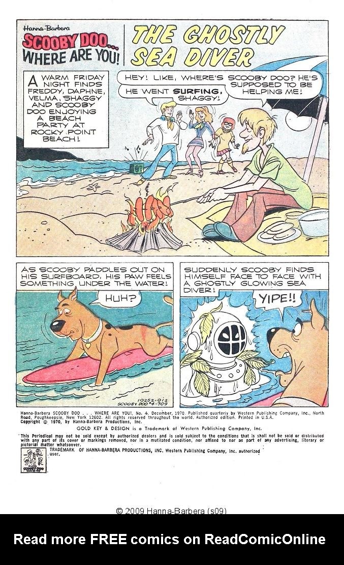 Read online Scooby-Doo... Where Are You! (1970) comic -  Issue #4 - 3