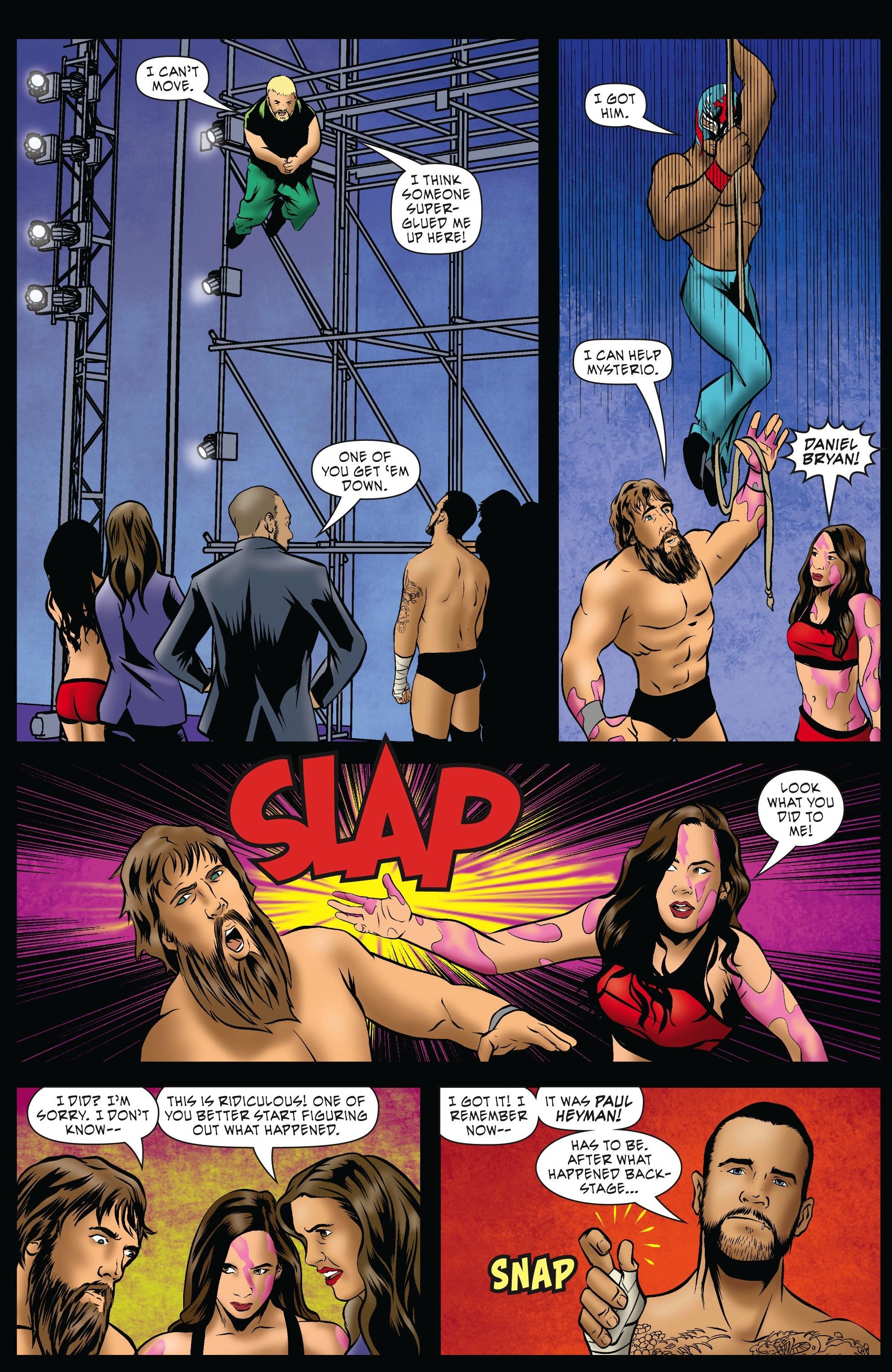 Read online WWE Superstars comic -  Issue #5 - 10