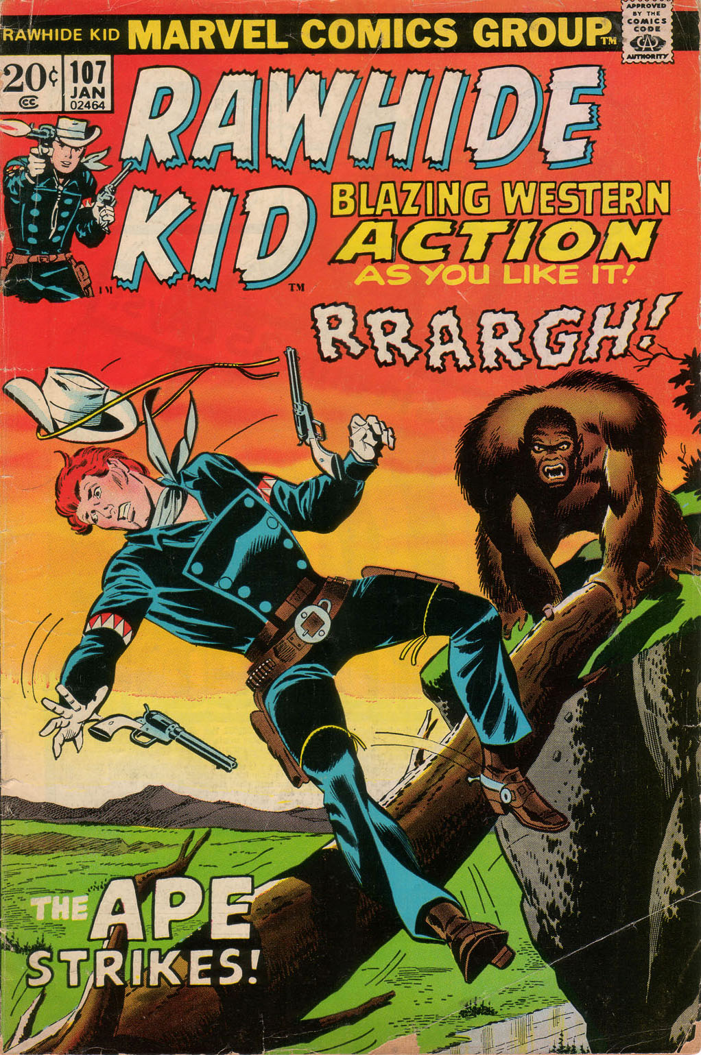 The Rawhide Kid (1955) issue 107 - Page 1