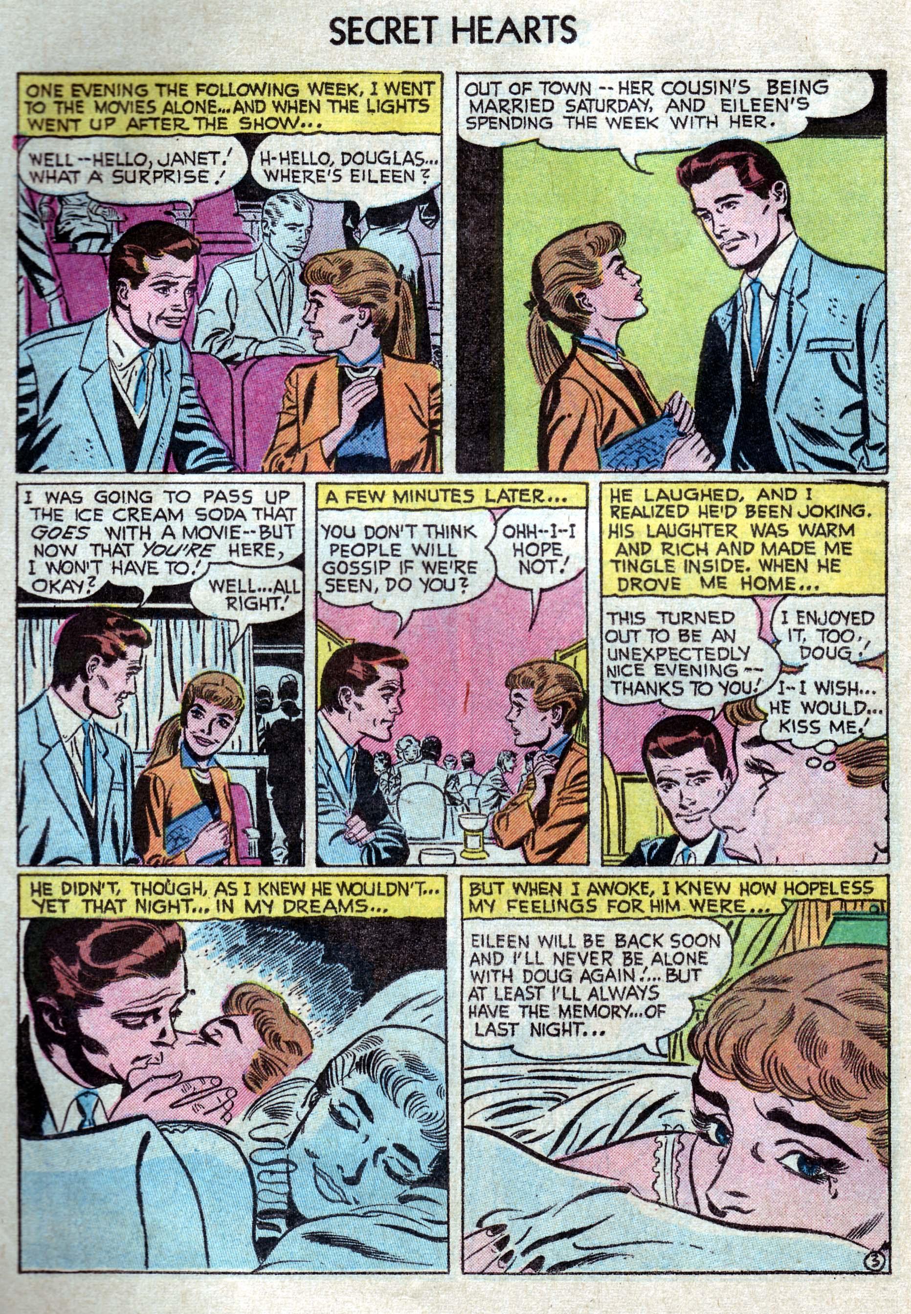 Read online Secret Hearts comic -  Issue #33 - 12