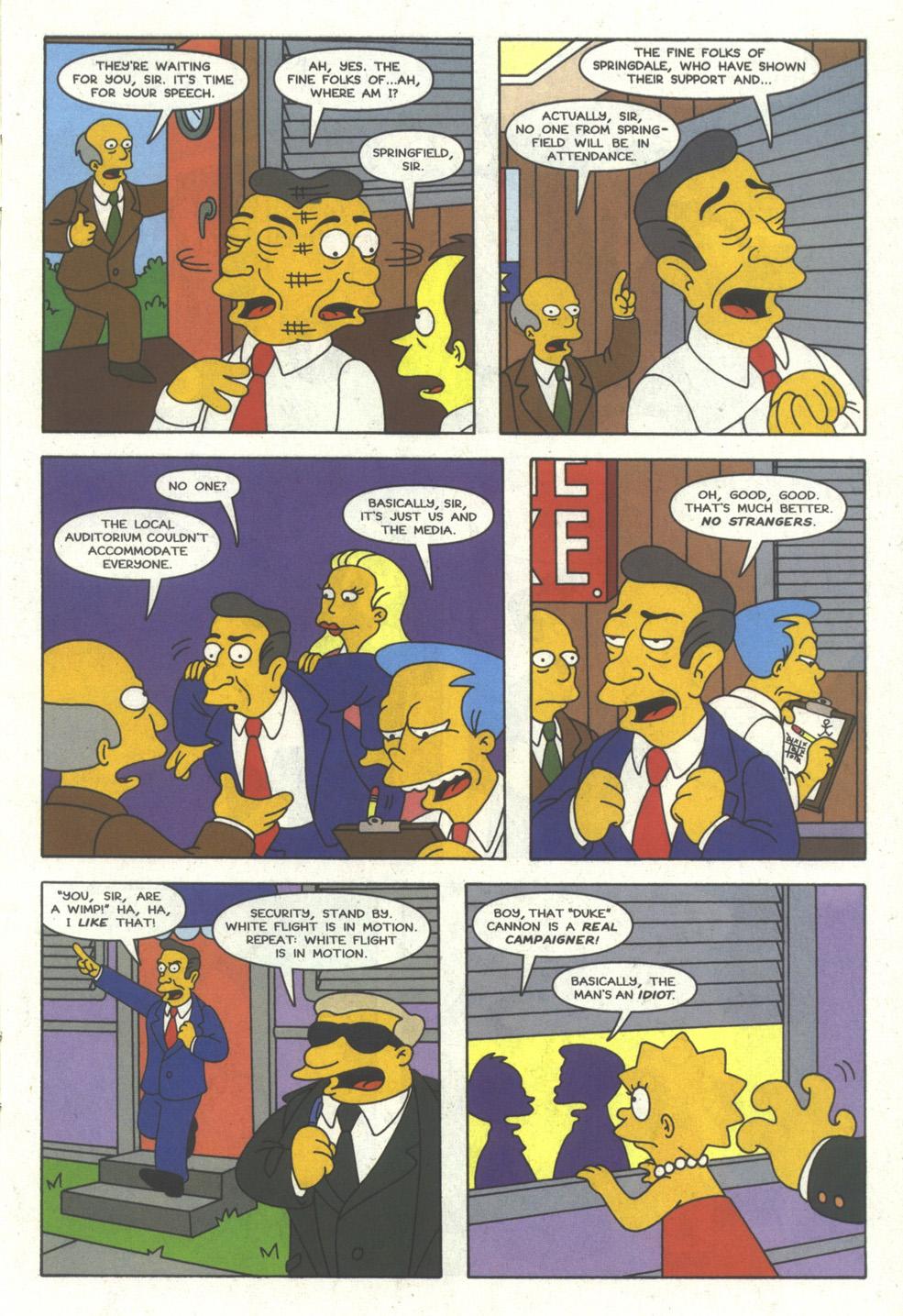 Read online Simpsons Comics comic -  Issue #24 - 12