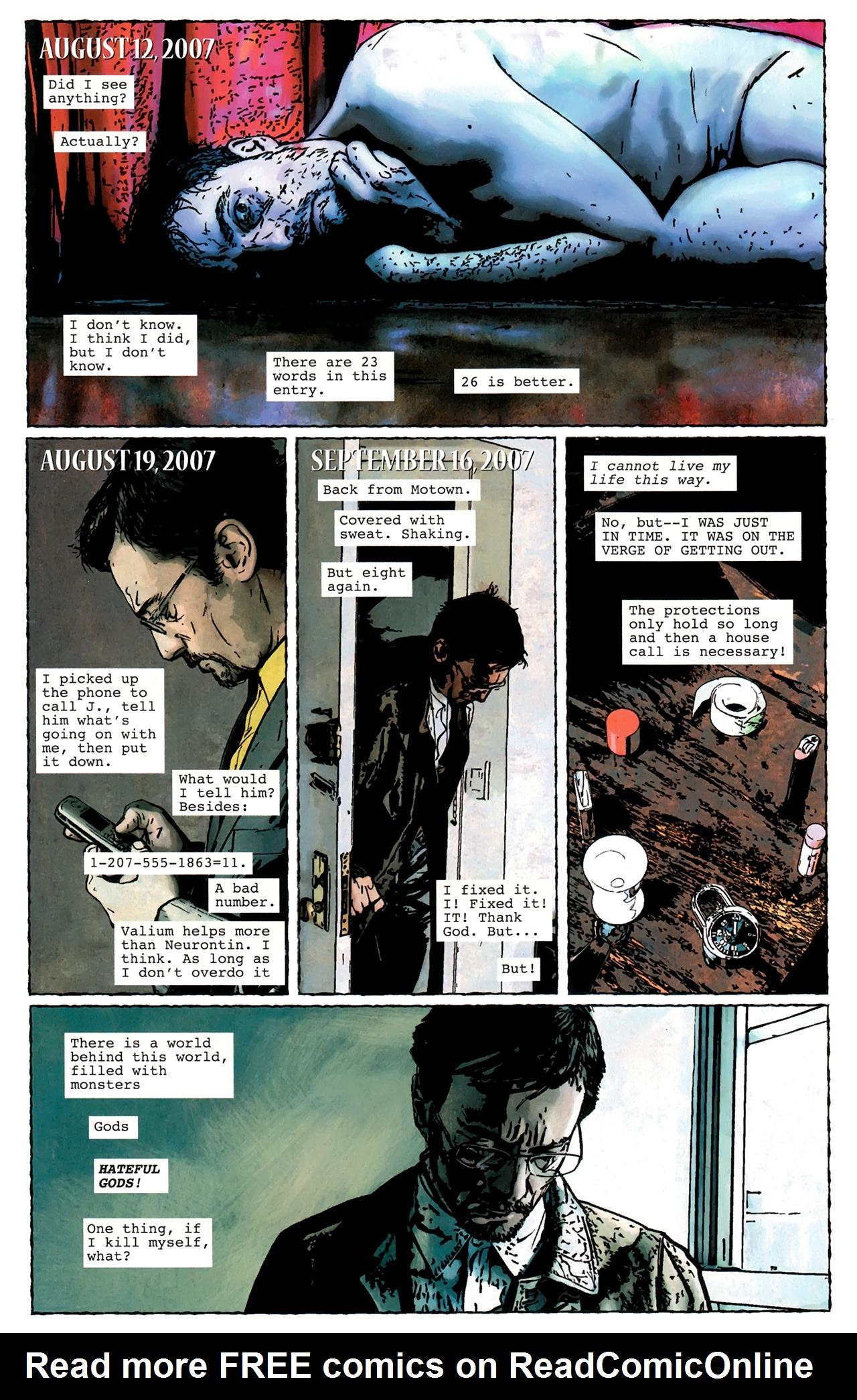 Read online Stephen King's N. comic -  Issue #3 - 15