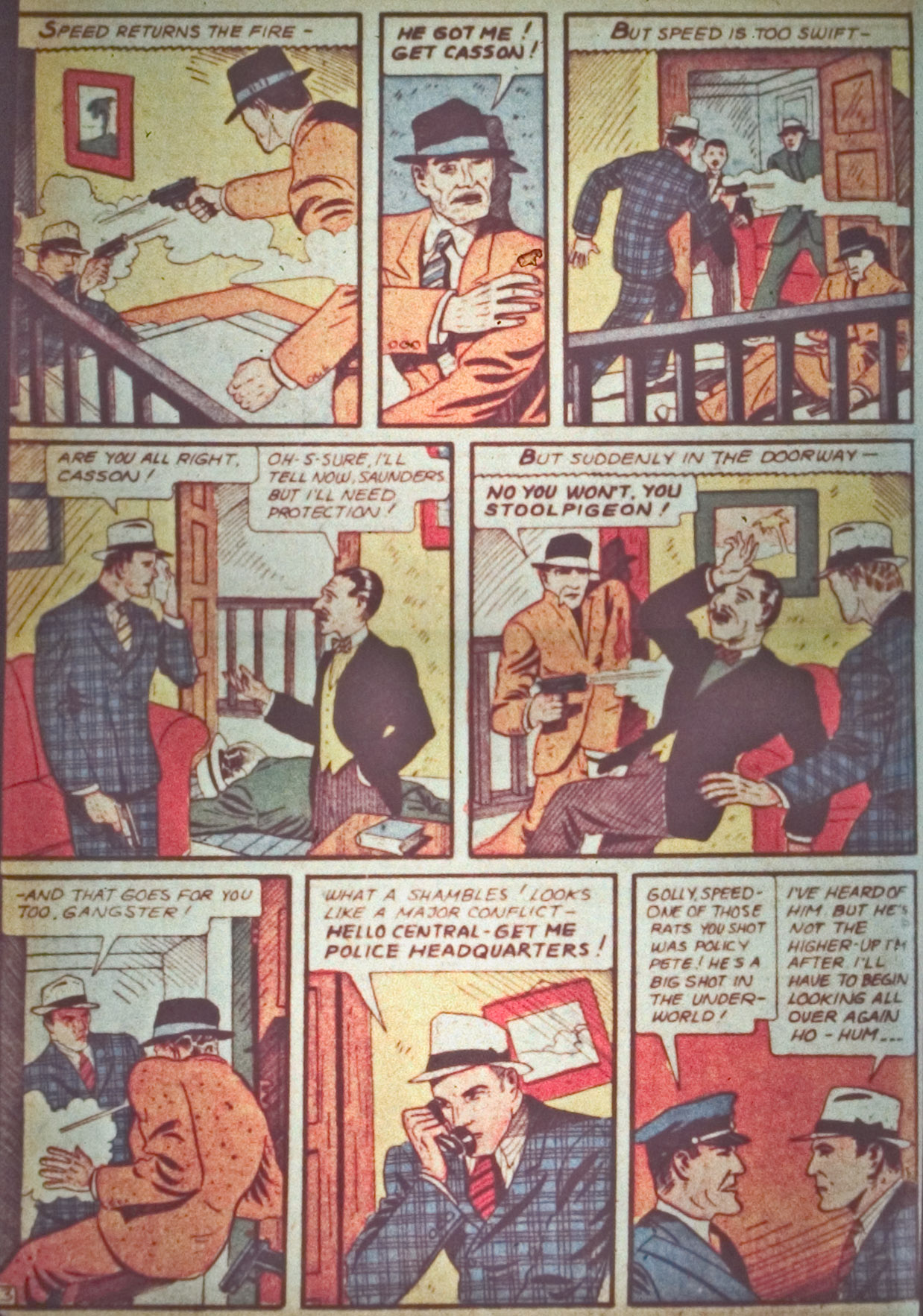 Detective Comics (1937) 28 Page 11