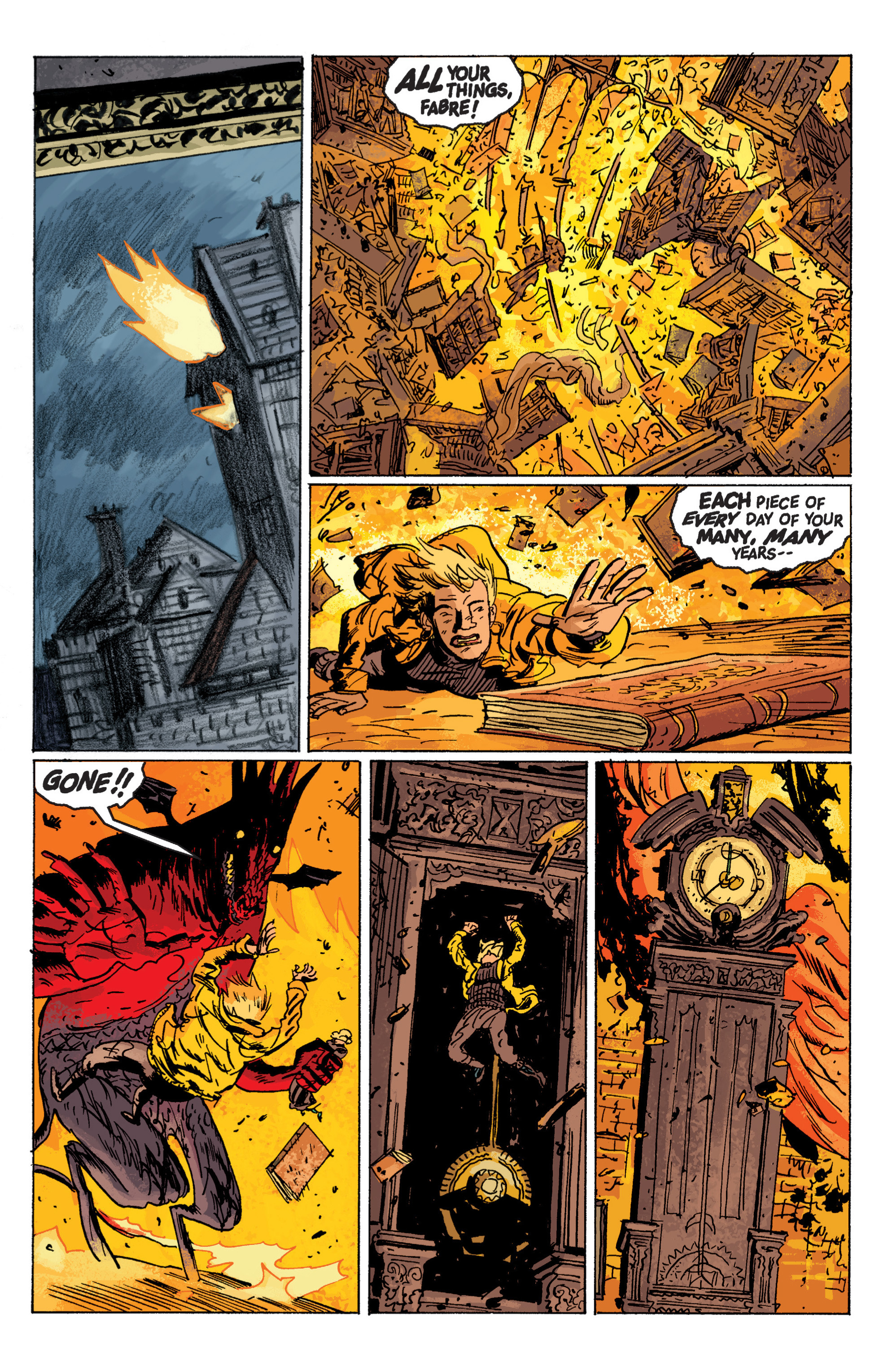 Read online B.P.R.D. (2003) comic -  Issue # TPB 6 - 126