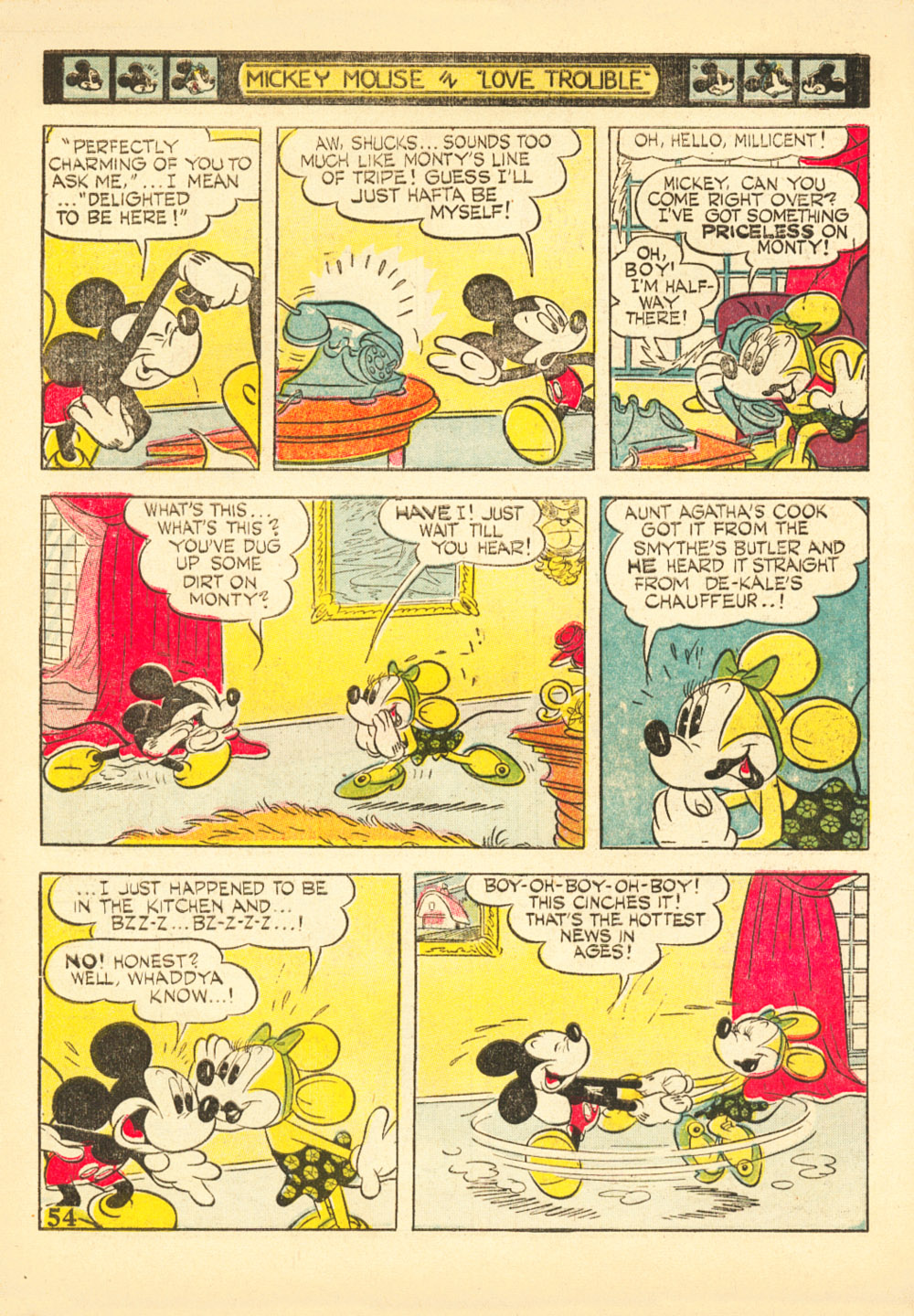 Walt Disney's Comics and Stories issue 38 - Page 56