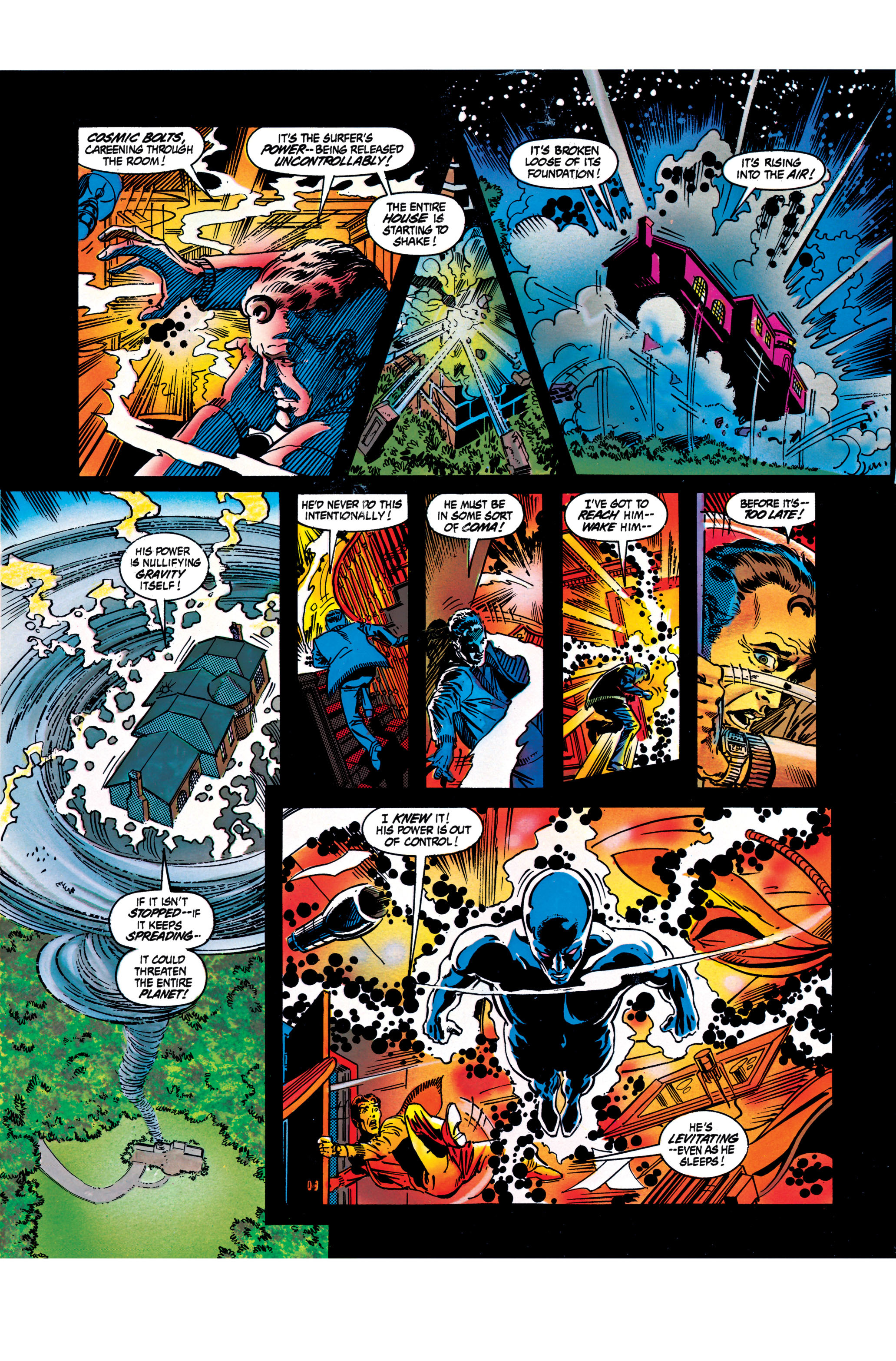 Read online Silver Surfer: Parable comic -  Issue # TPB - 69