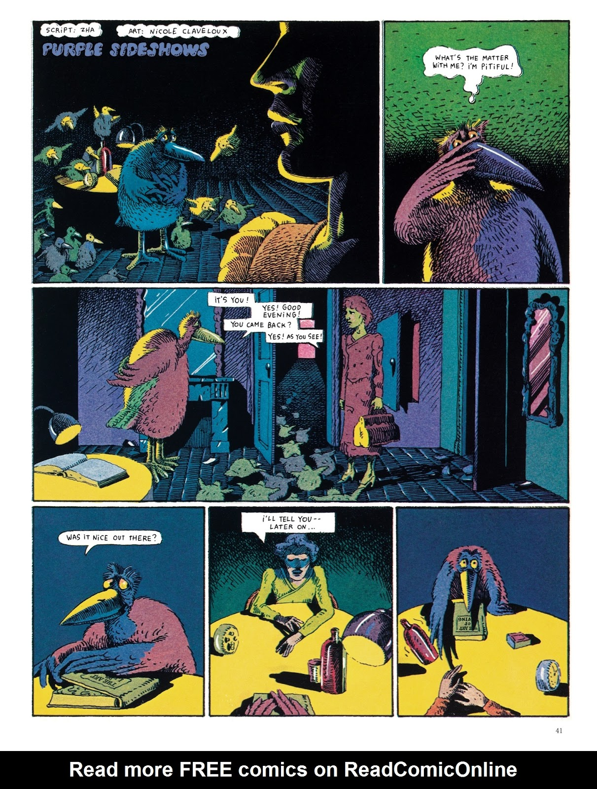 Read online The Green Hand and Other Stories comic -  Issue # TPB - 40