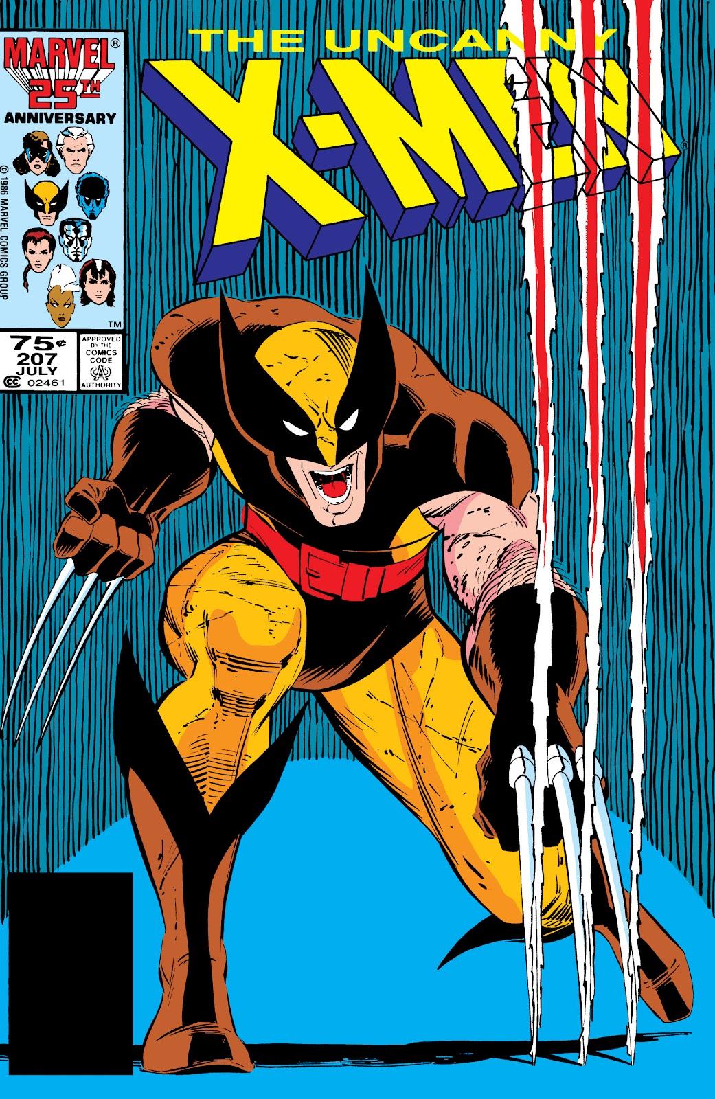 Uncanny X-Men (1963) issue 207 - Page 1