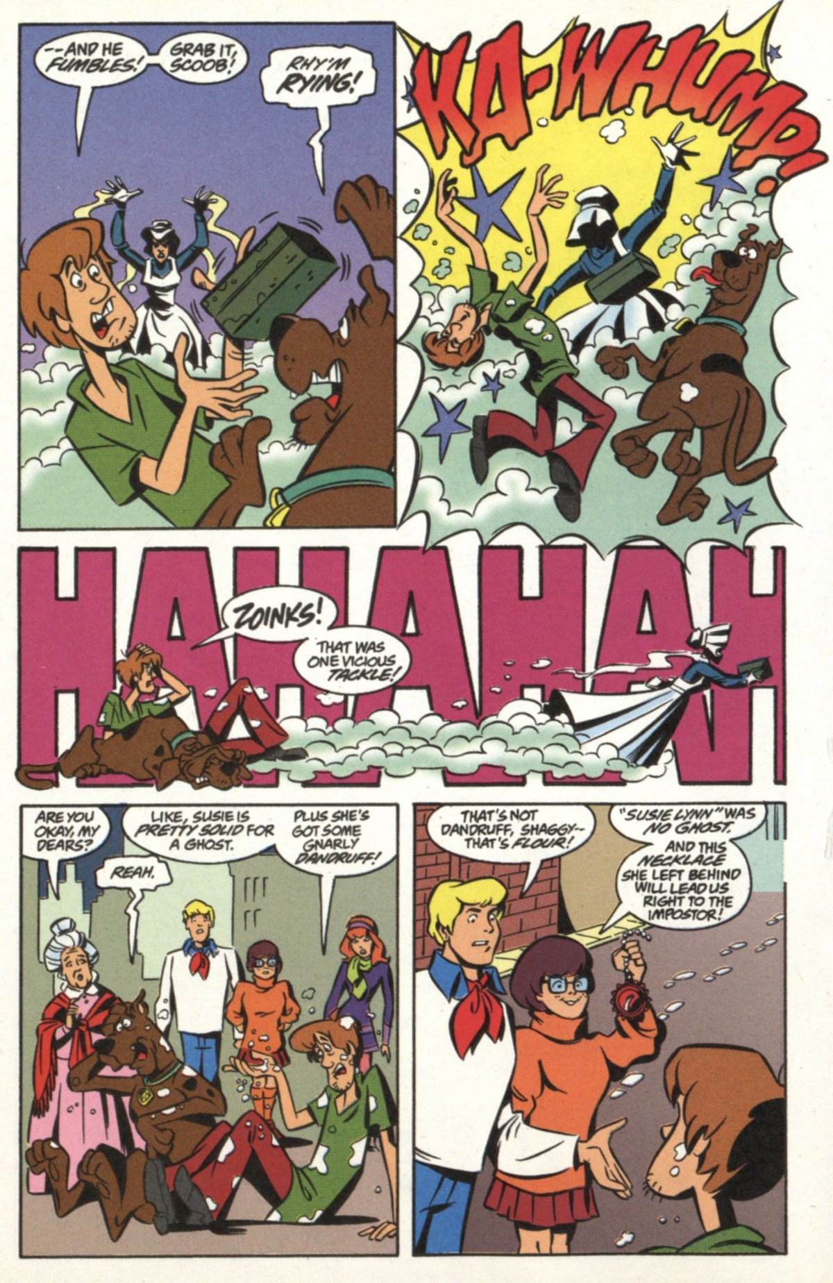 Read online Scooby-Doo (1997) comic -  Issue #19 - 21