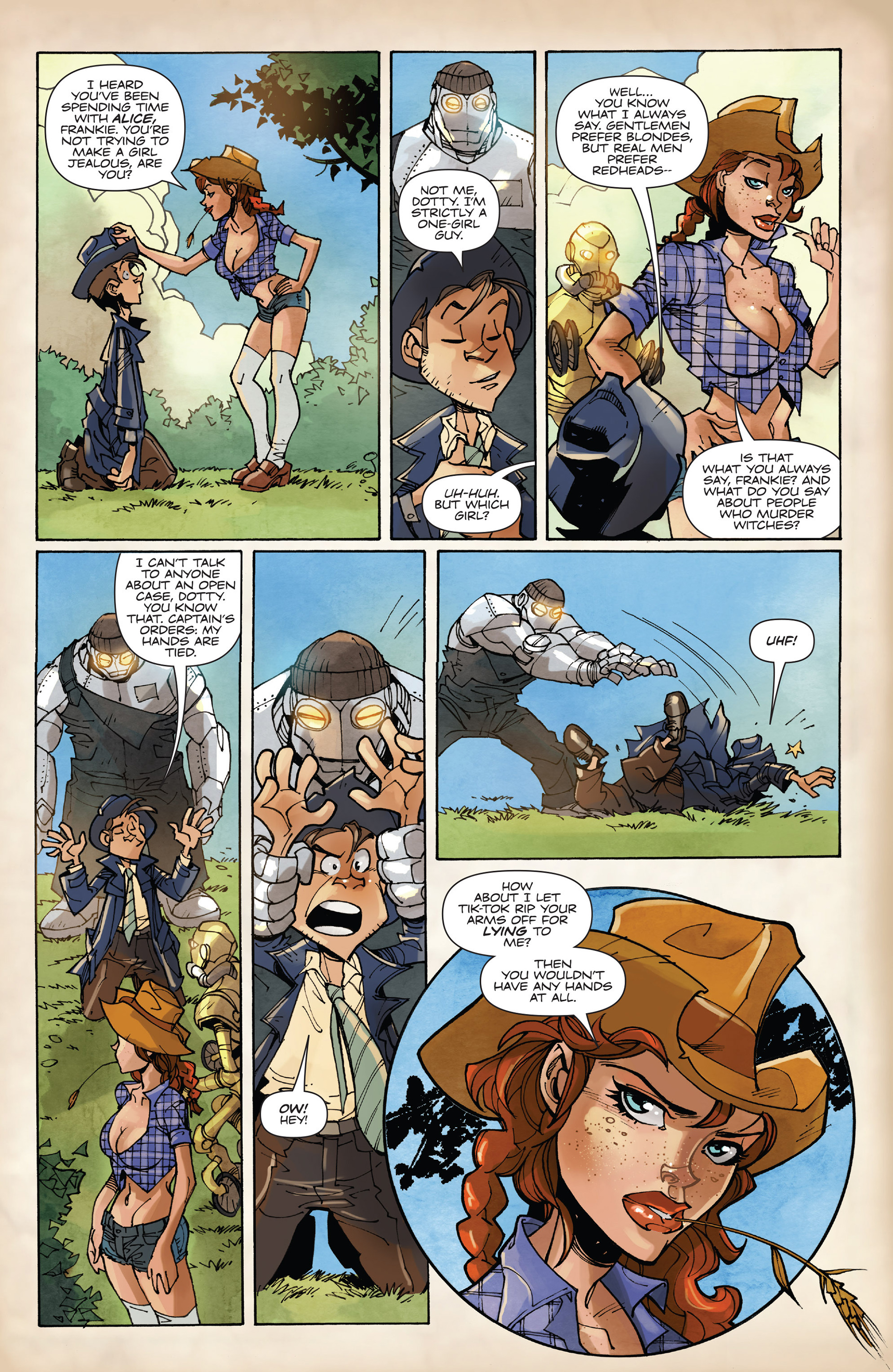 Read online Fiction Squad comic -  Issue #2 - 14