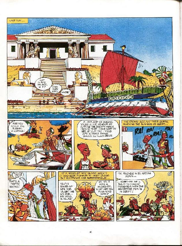 Read online Asterix comic -  Issue #6 - 43