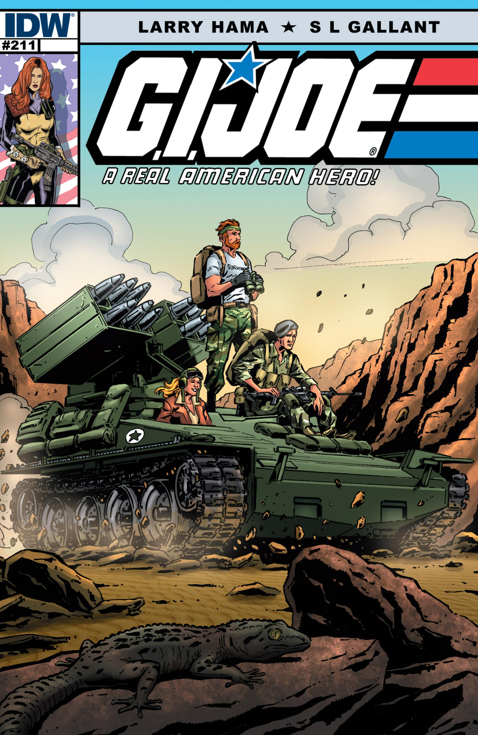 G.I. Joe: A Real American Hero 211 Page 1