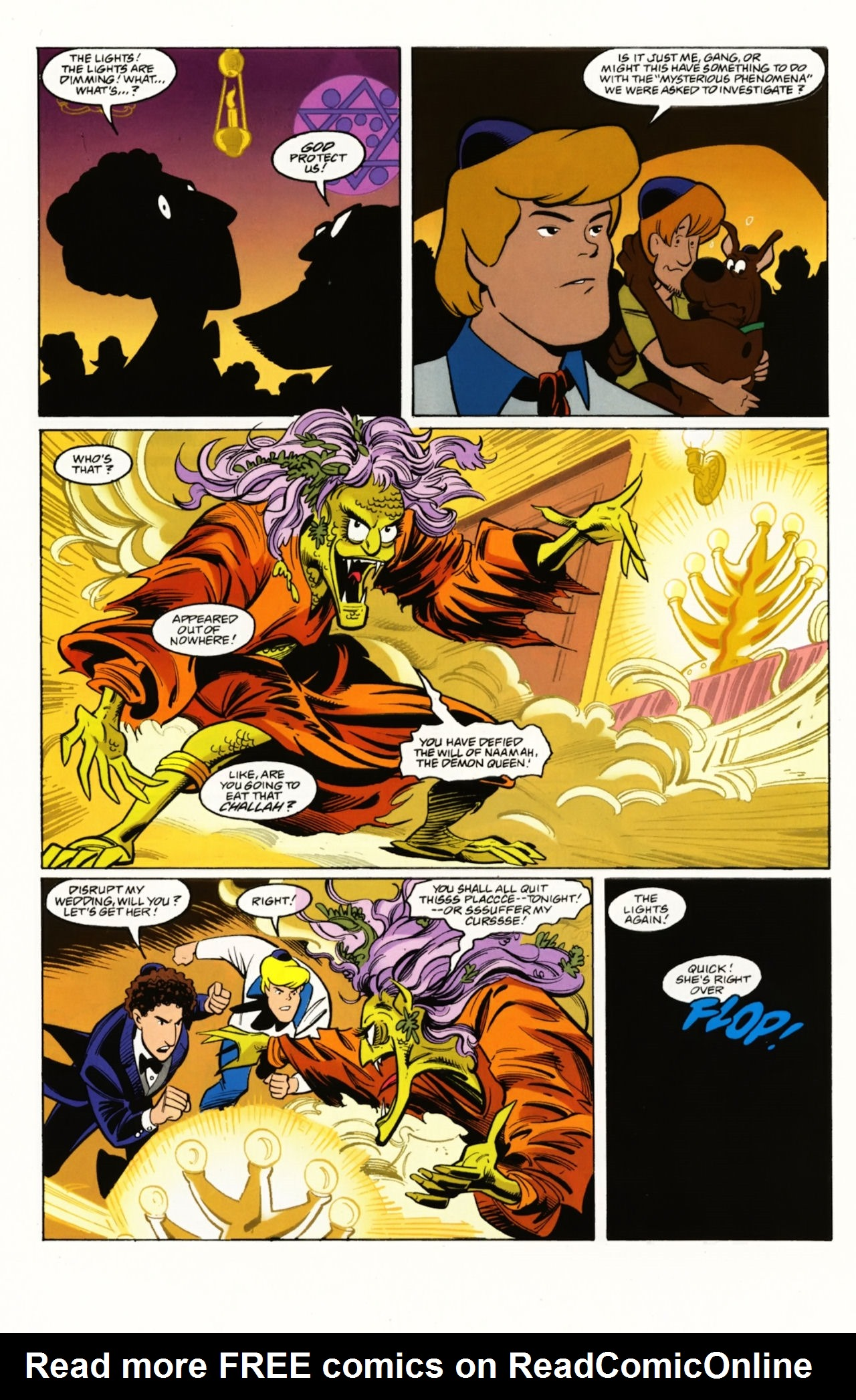 Read online Scooby-Doo: Where Are You? comic -  Issue #4 - 16