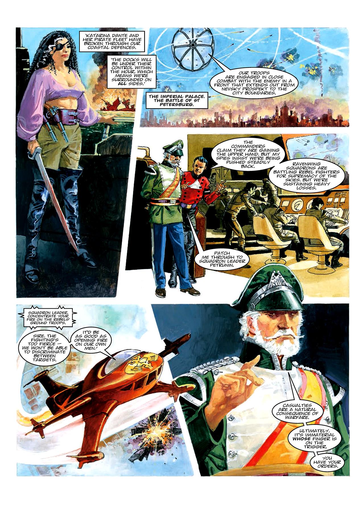 Read online Nikolai Dante comic -  Issue # TPB 10 - 60