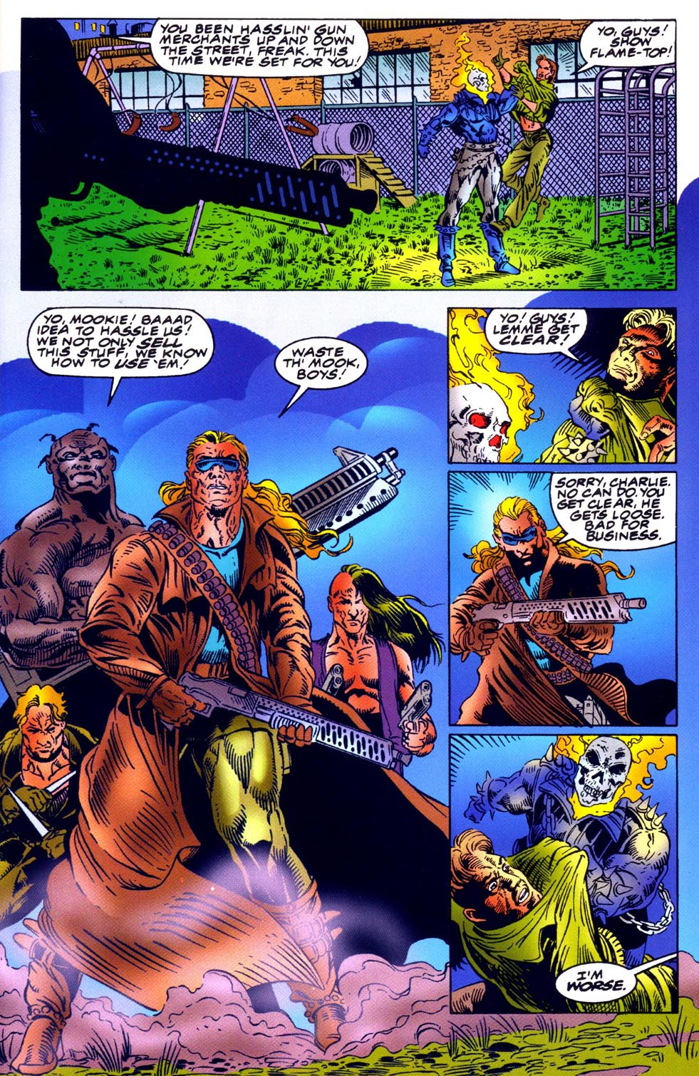 Read online Double Edge comic -  Issue # Issue Omega - 14