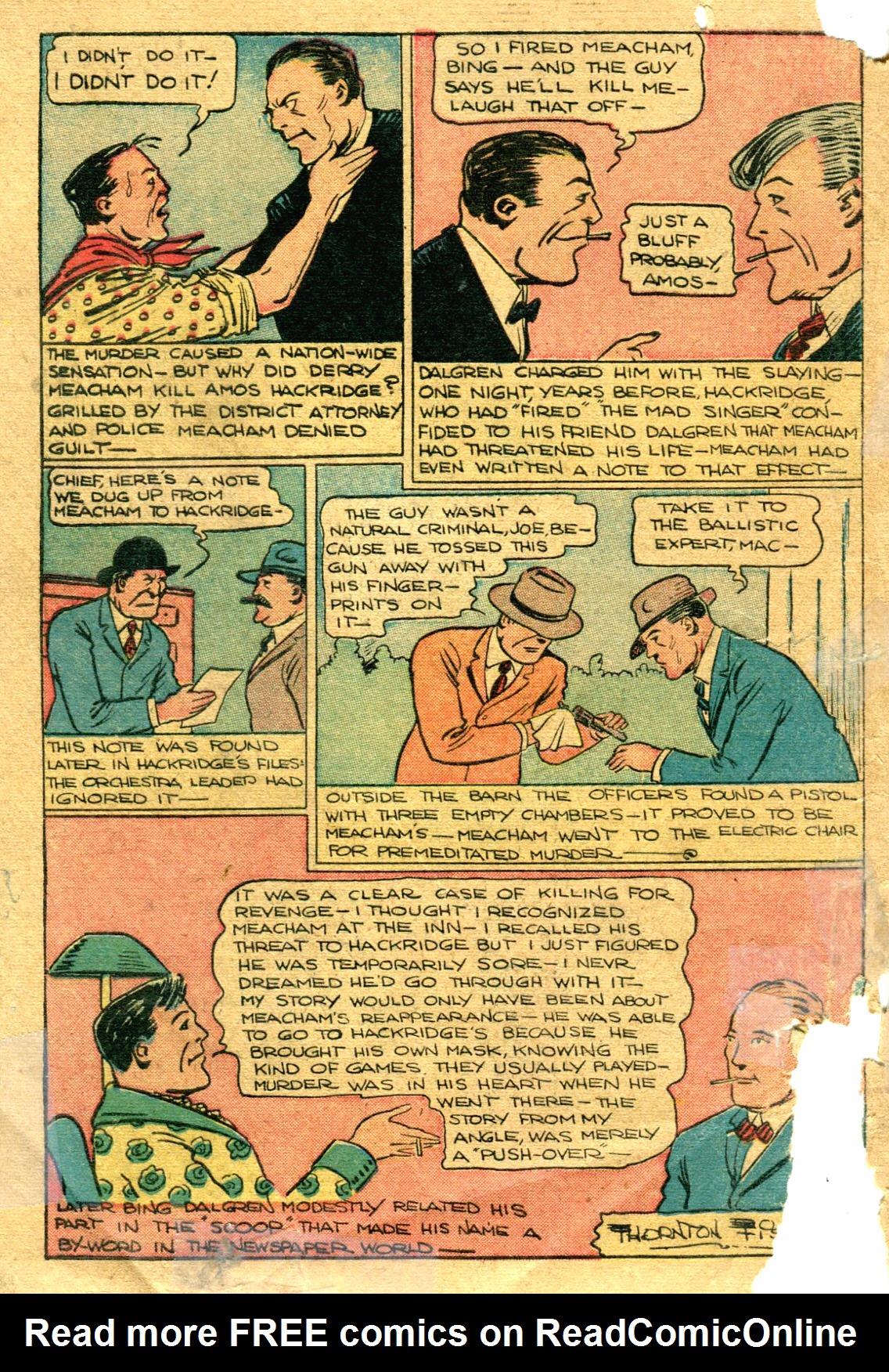 Read online Shadow Comics comic -  Issue #75 - 49