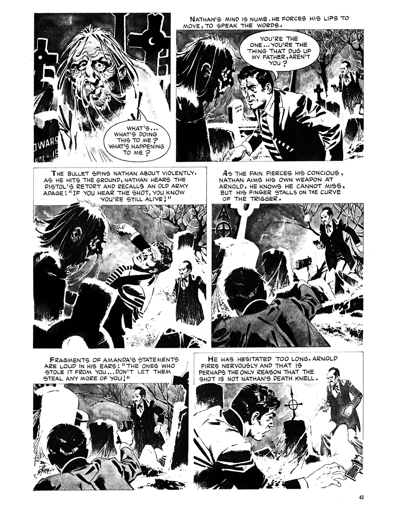 Read online Eerie Archives comic -  Issue # TPB 8 - 44
